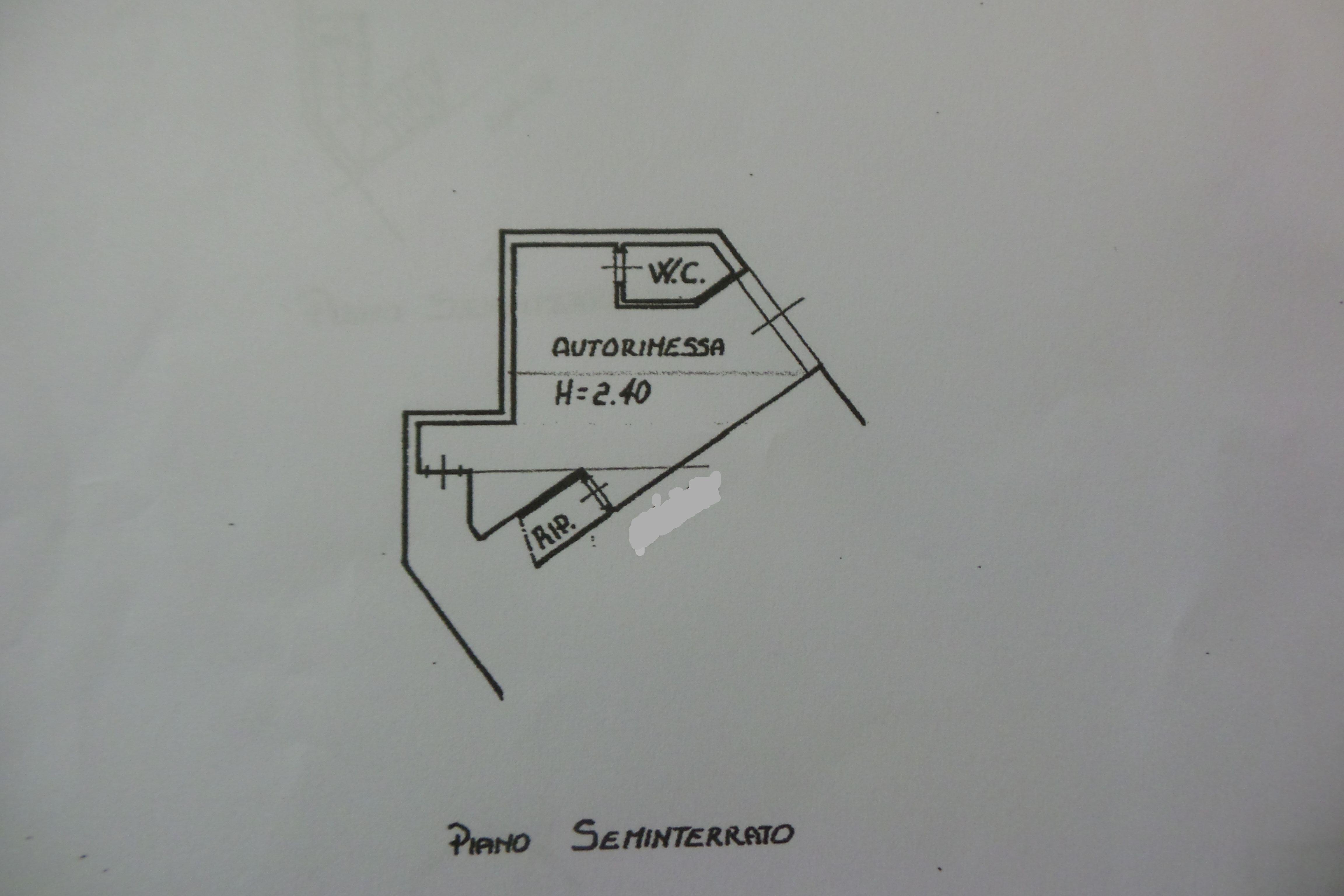 Planimetria 2/4 per rif. M/0029