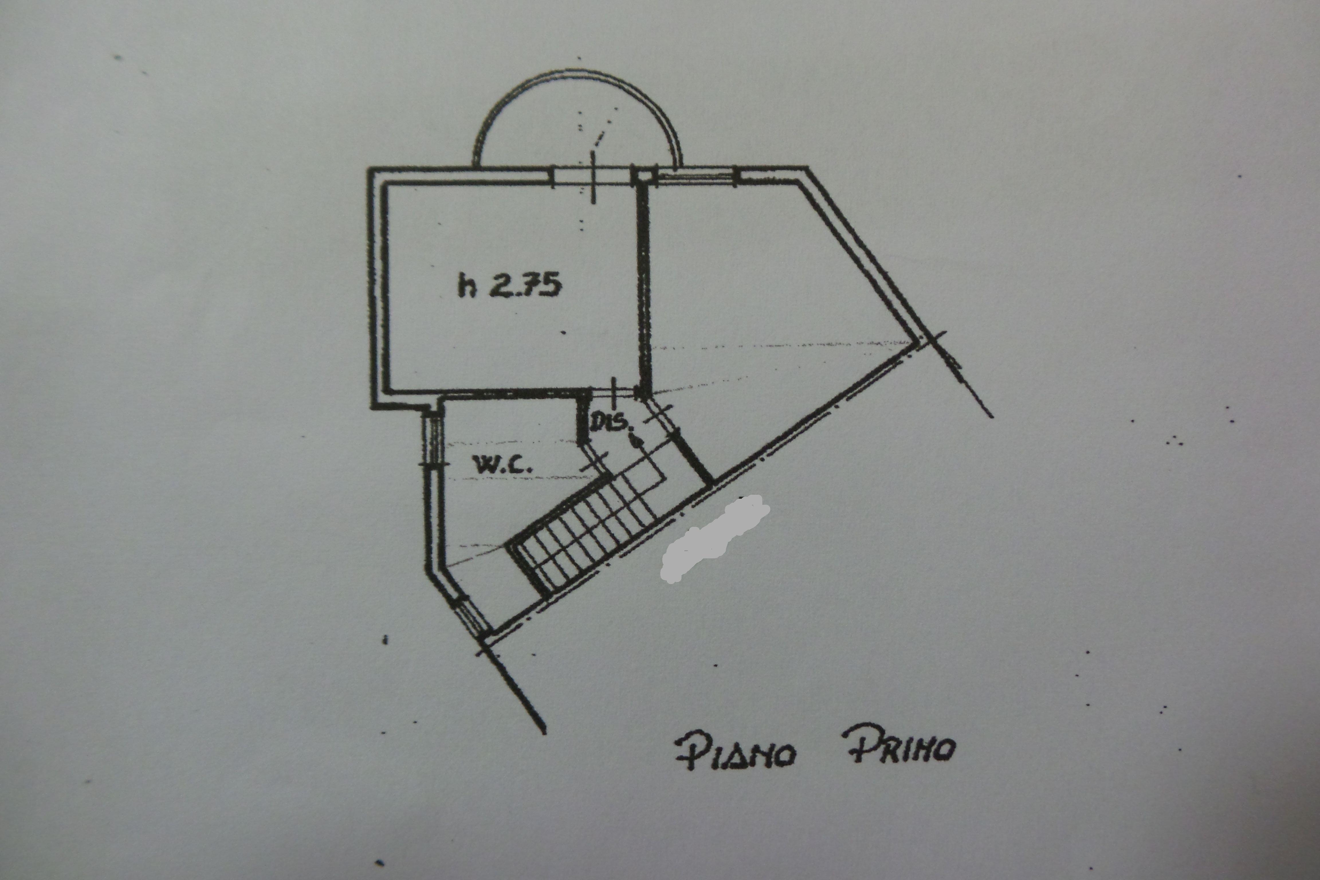 Planimetria 3/4 per rif. M/0029