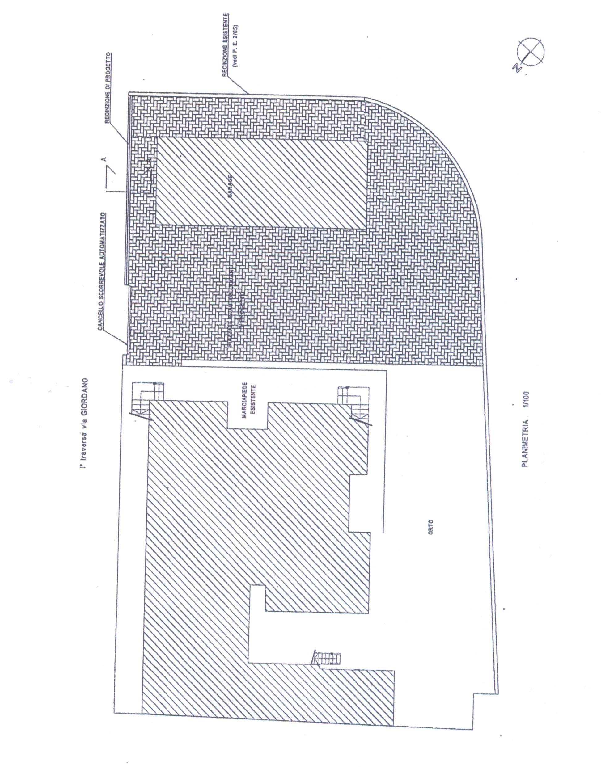 Planimetria 4/4 per rif. B/0218