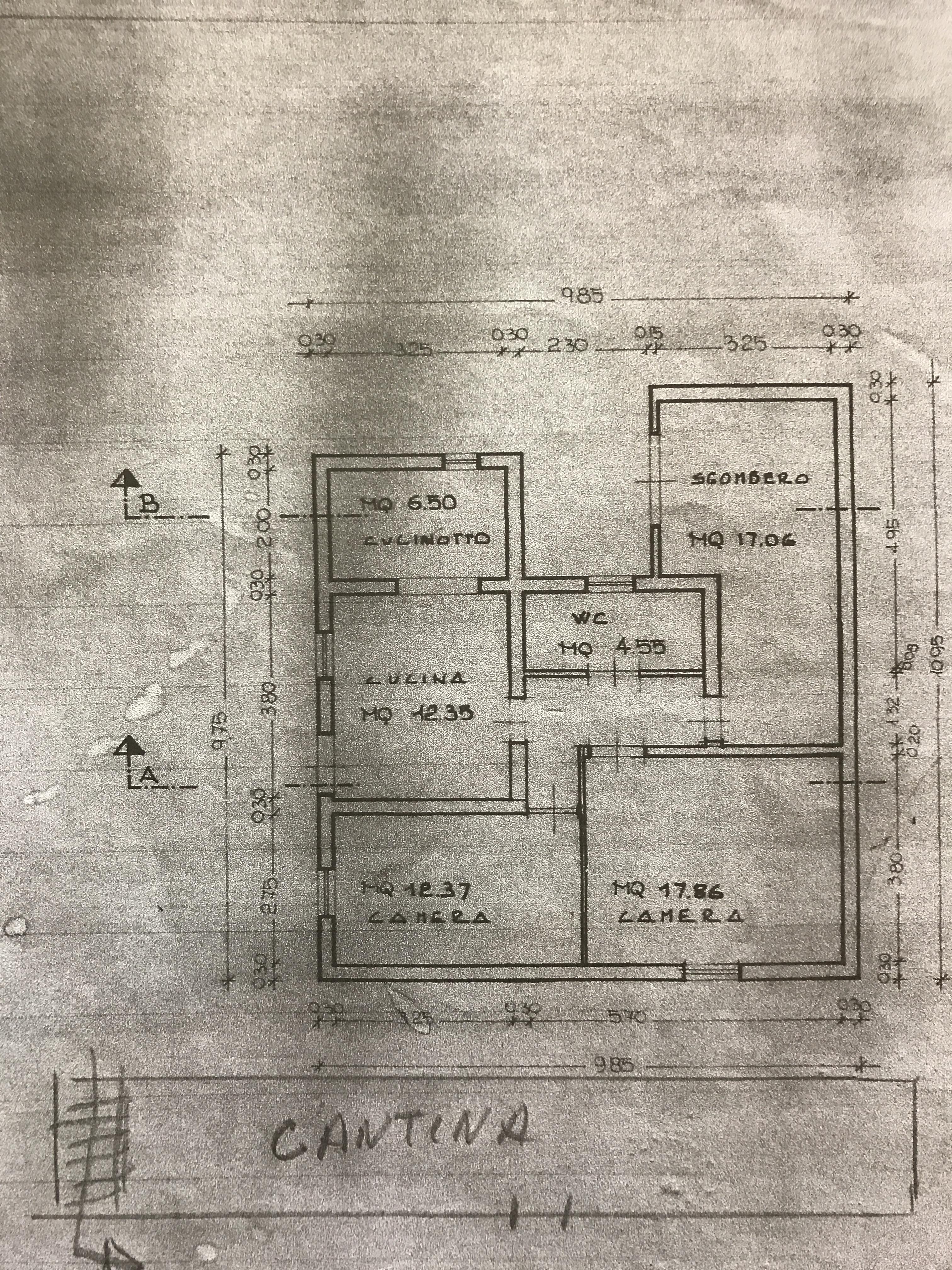 Planimetria 1/1 per rif. 1/3241