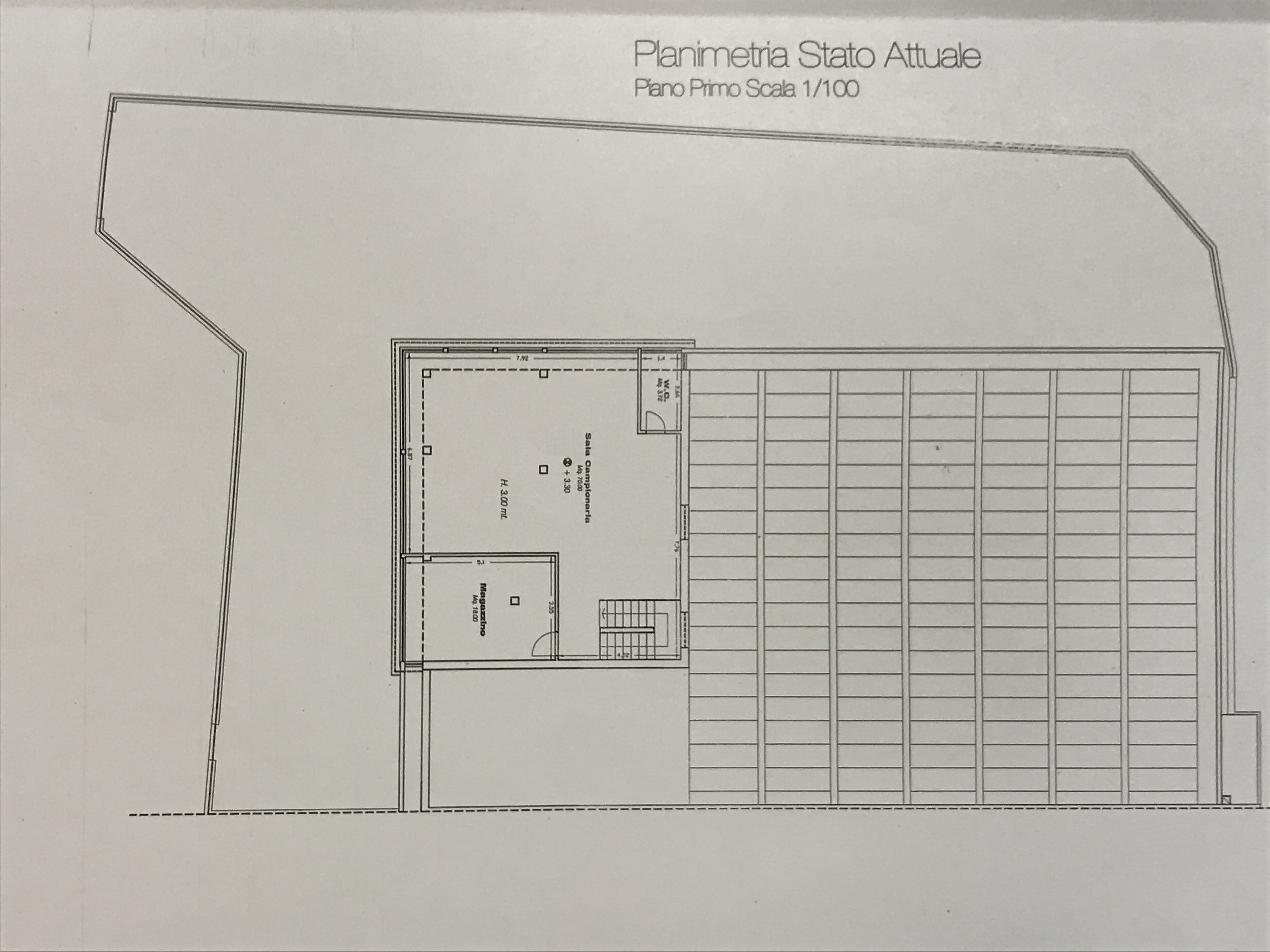 Planimetria 1/2 per rif. M/0005