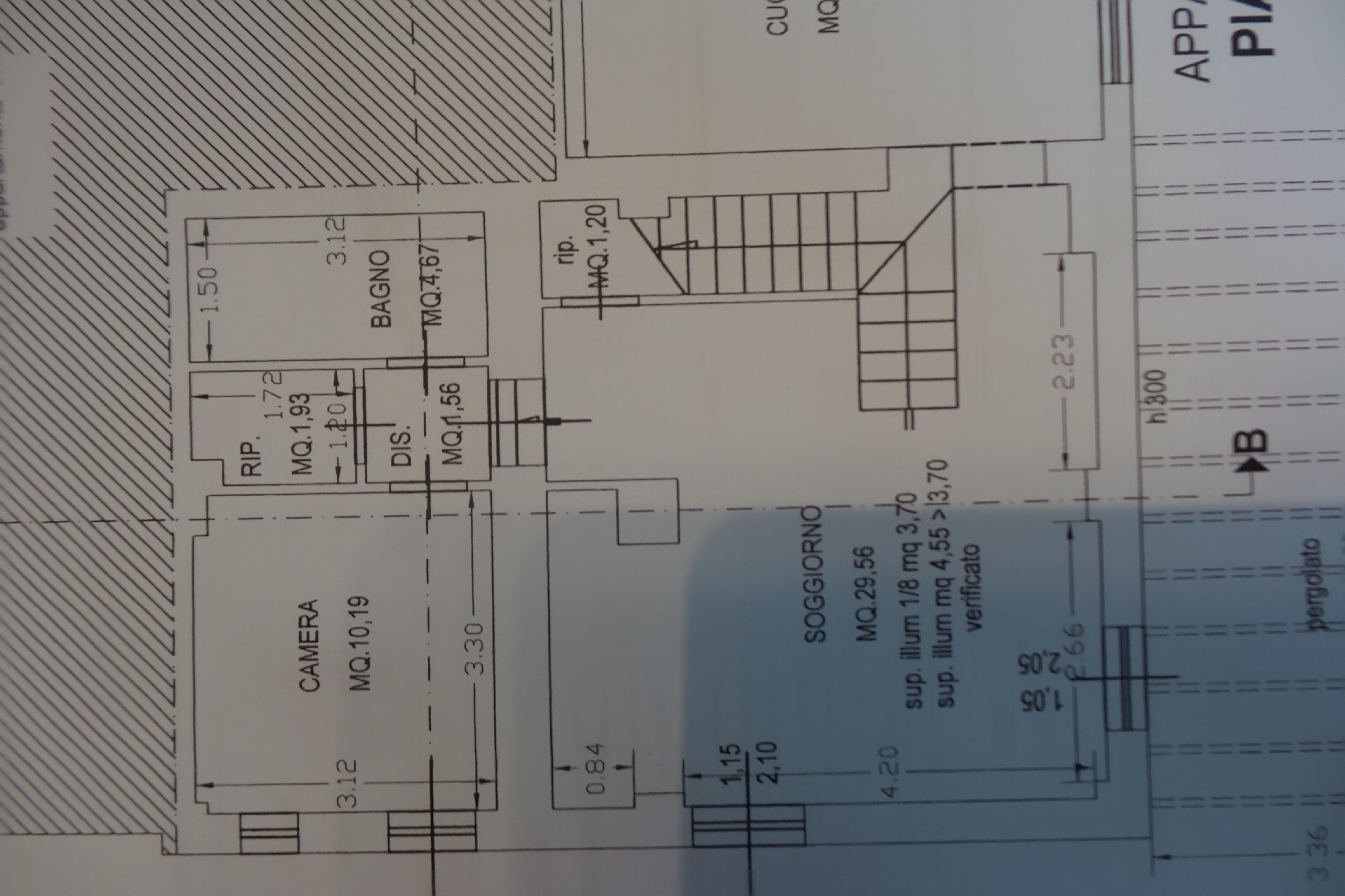 Planimetria 2/2 per rif. B/0217