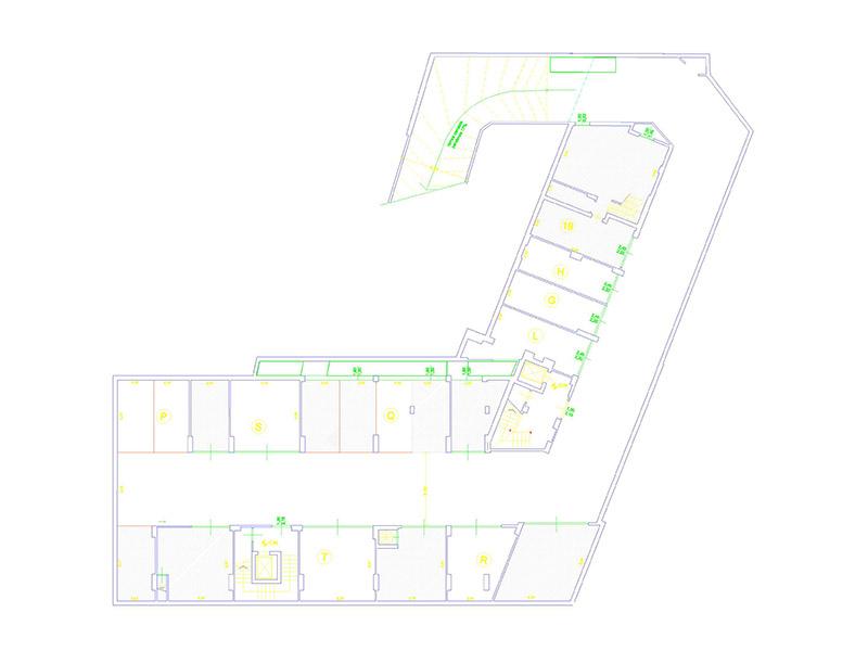 Planimetria 1/2 per rif. F/0023