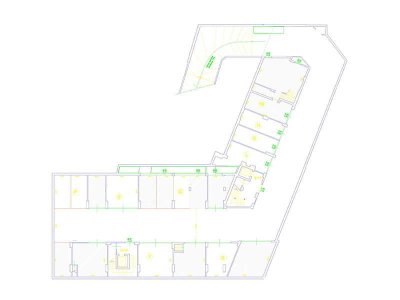 Planimetria 2/2 per rif. F/0024