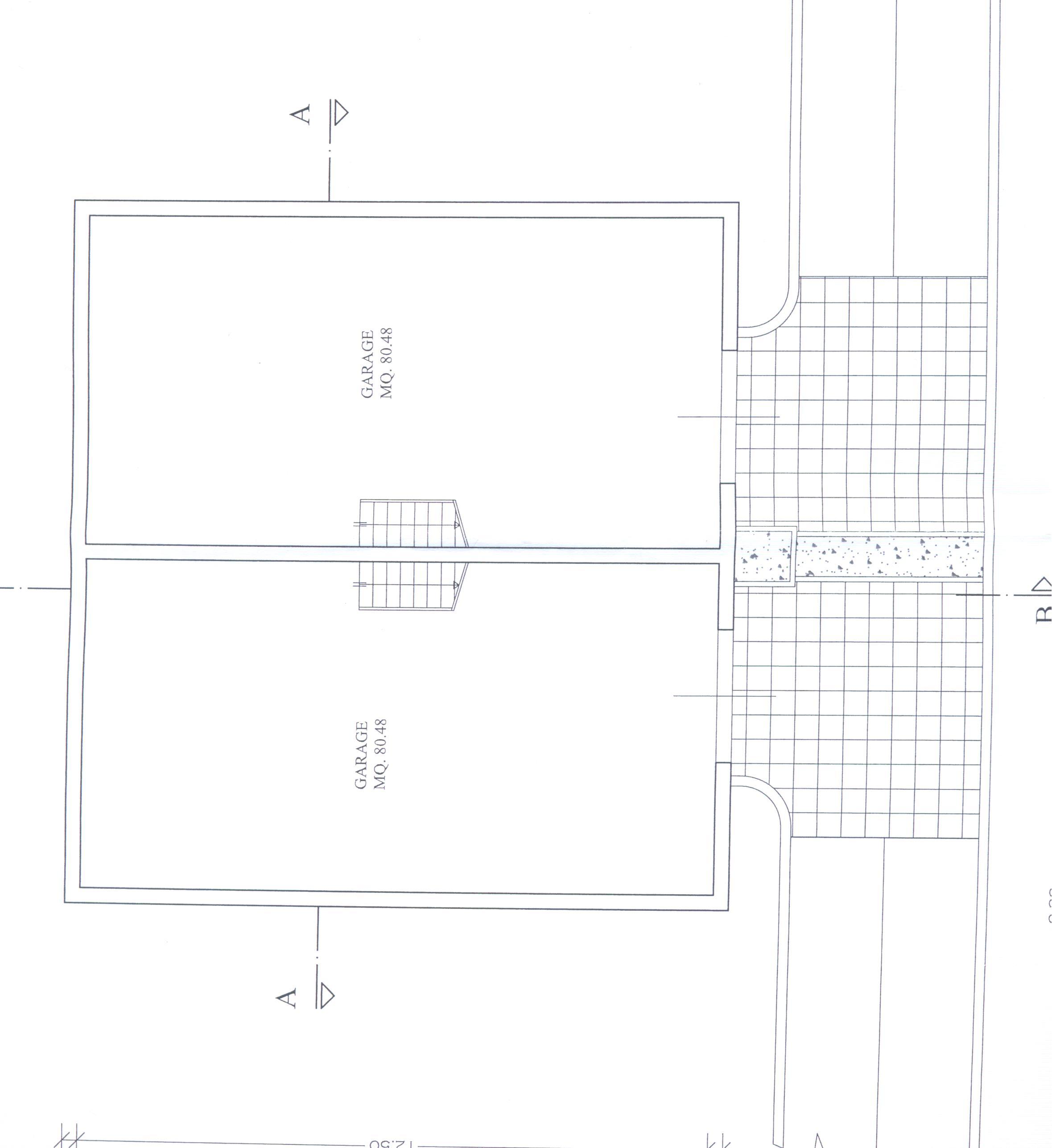 Planimetria 1/3 per rif. F/0077