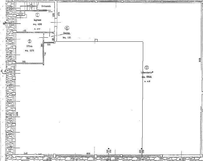 Planimetria 1/2 per rif. M/0060