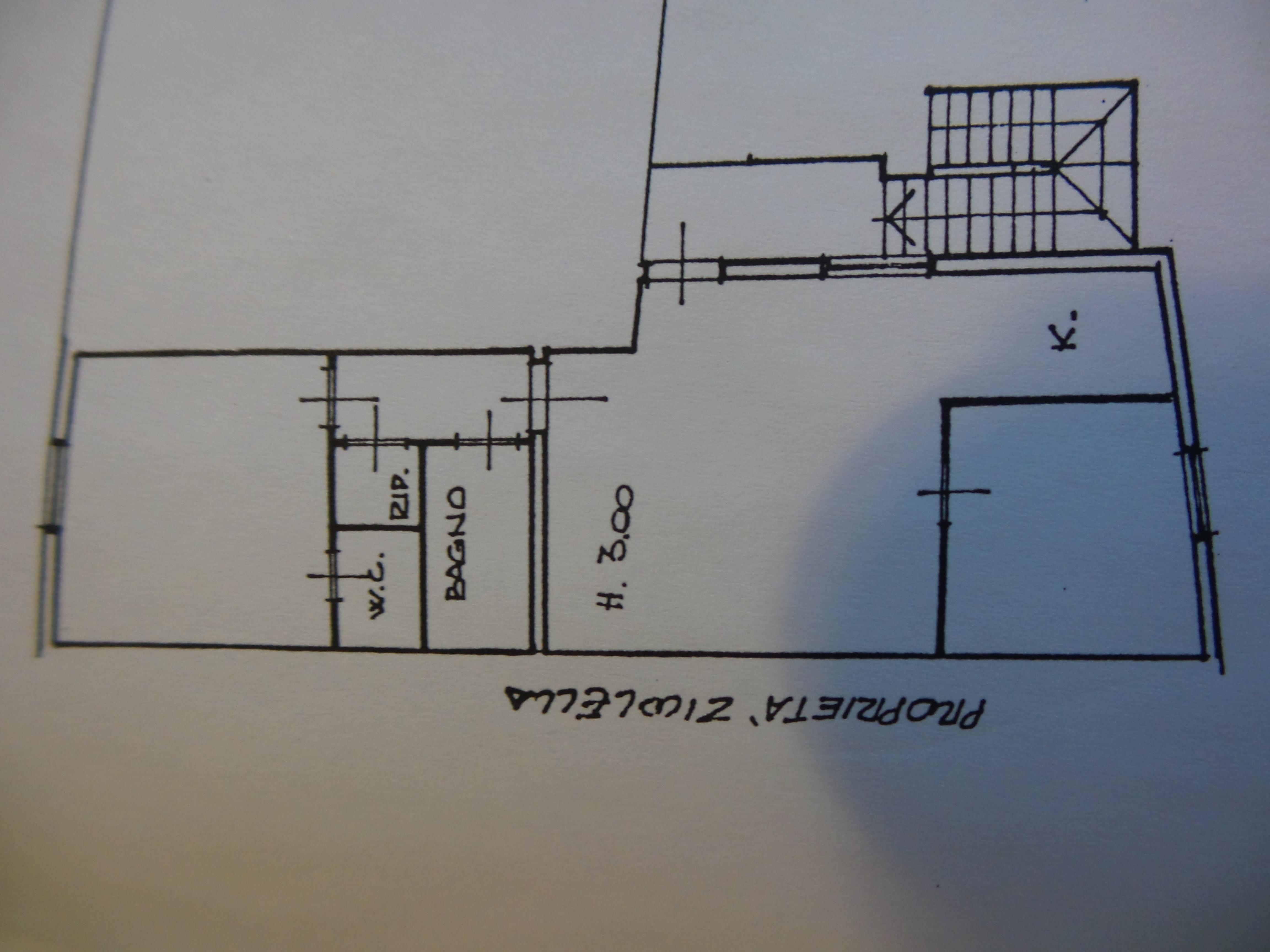 Planimetria 1/2 per rif. F/0104