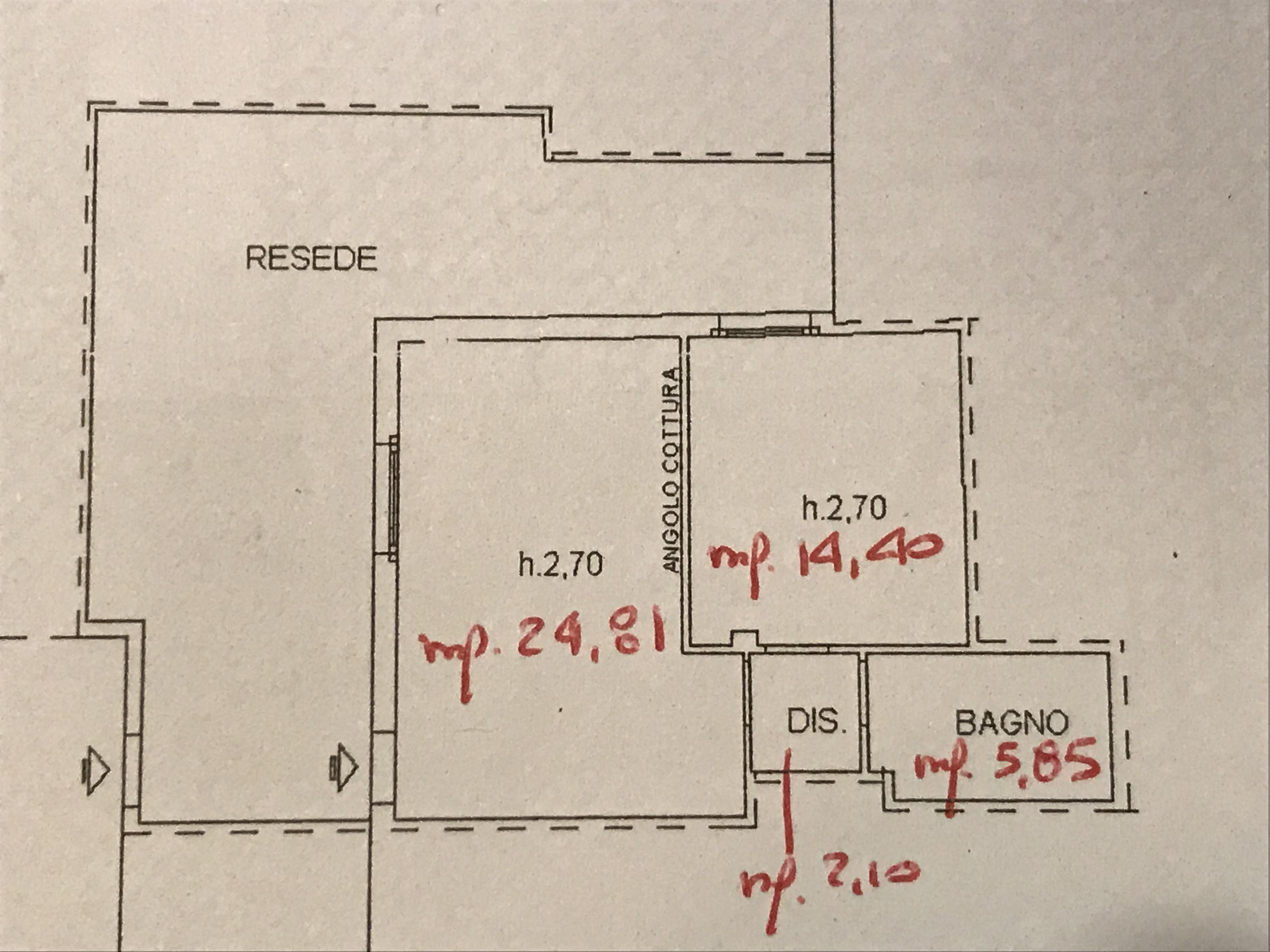 Planimetria 1/1 per rif. M/0090