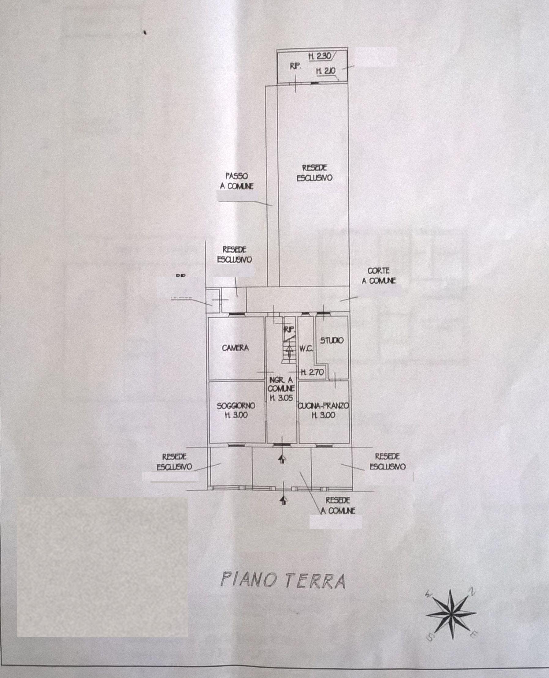Planimetria 2/2 per rif. F/0119