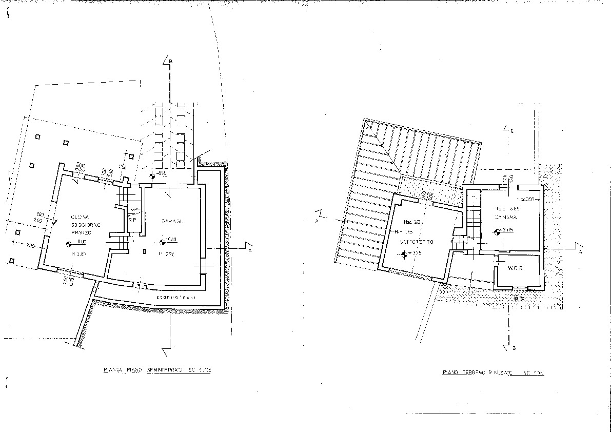 Planimetria 1/1 per rif. F/0125