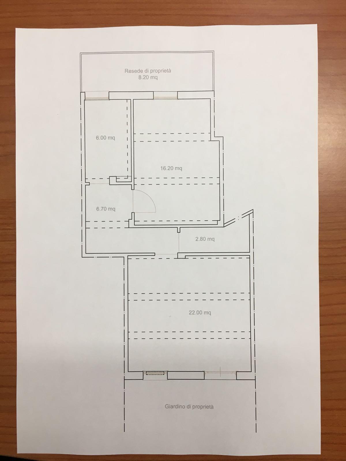 Appartamento in vendita, rif. M/0341 (Planimetria 1/1)