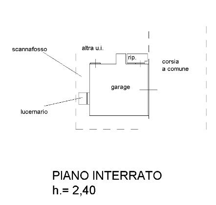 Planimetria 3/3 per rif. B/0075