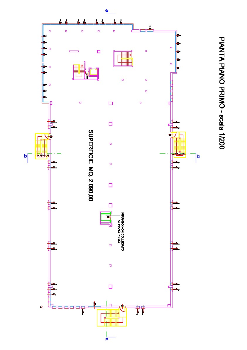 Planimetria 2/2 per rif. B/0078