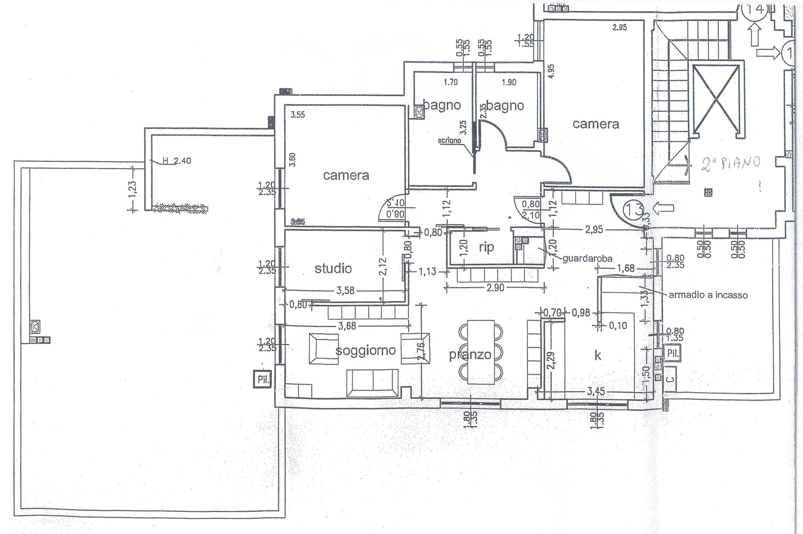 Planimetria 1/1 per rif. F/0133