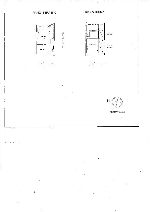 Planimetria 1/1 per rif. P/0065