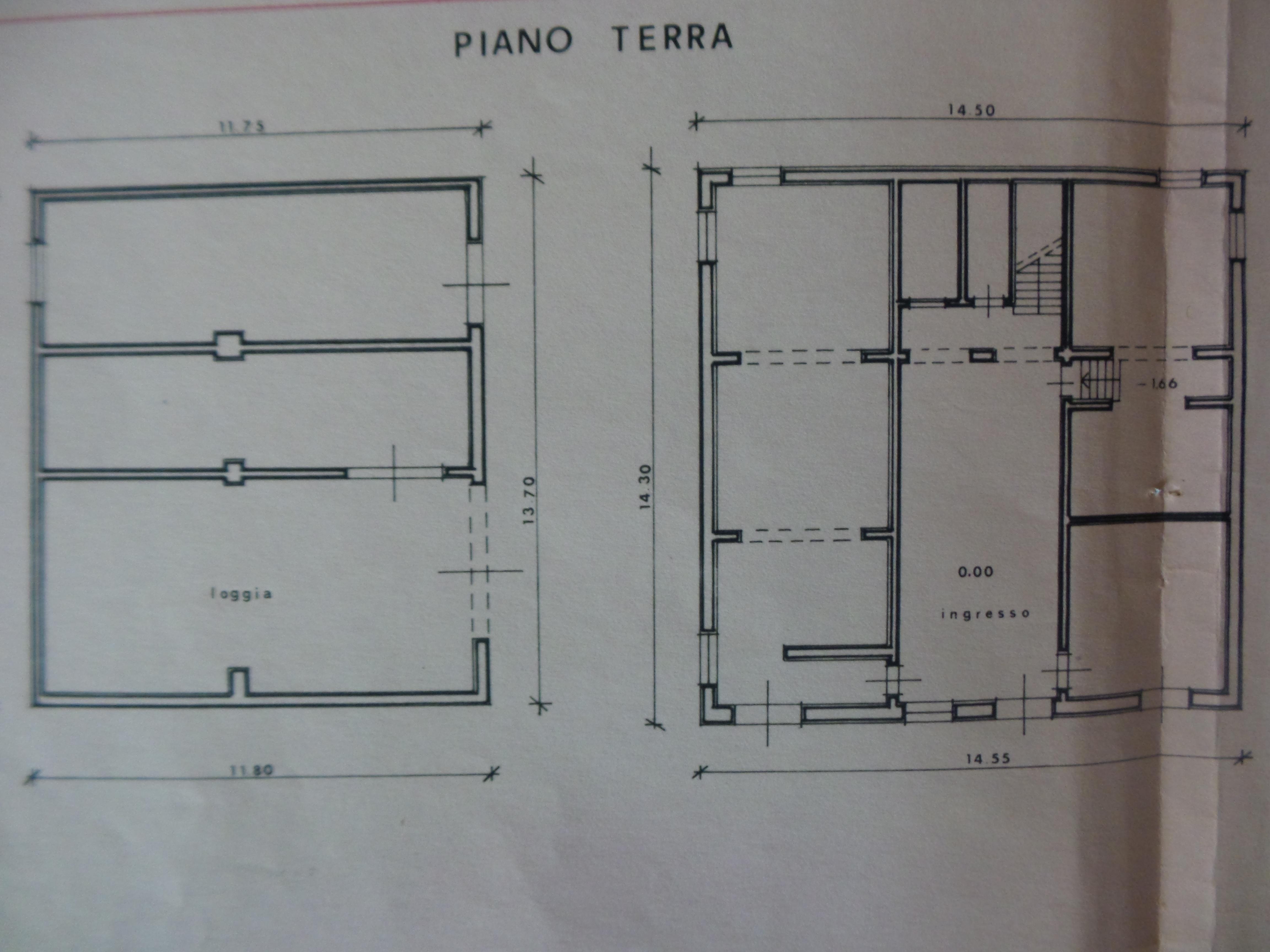 Planimetria 1/1 per rif. P/0068