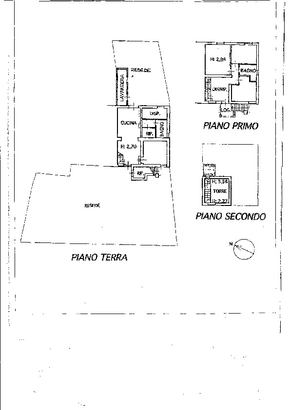 Planimetria 1/1 per rif. P/0076