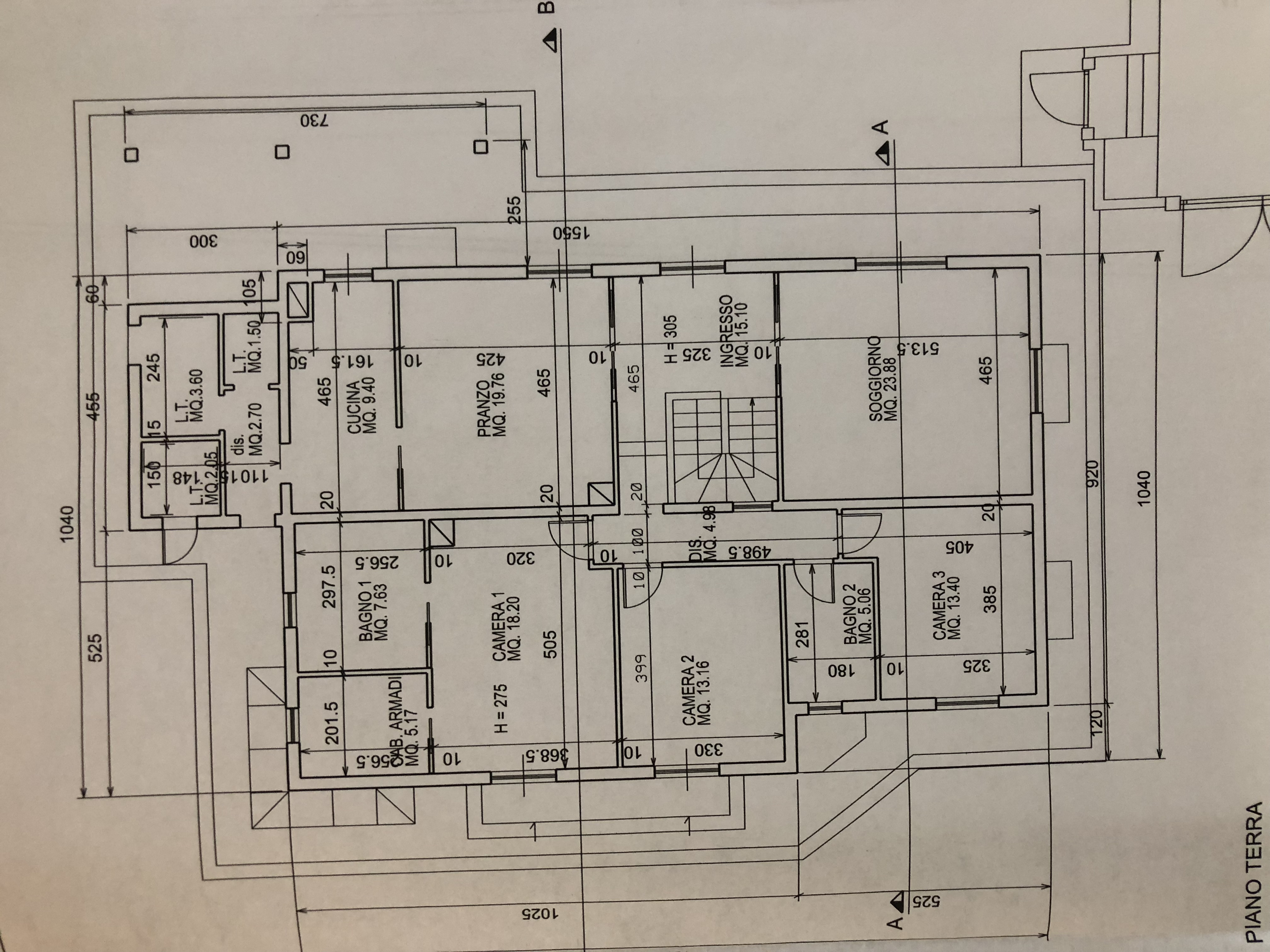 Plan 1/2 for ref. F/0156