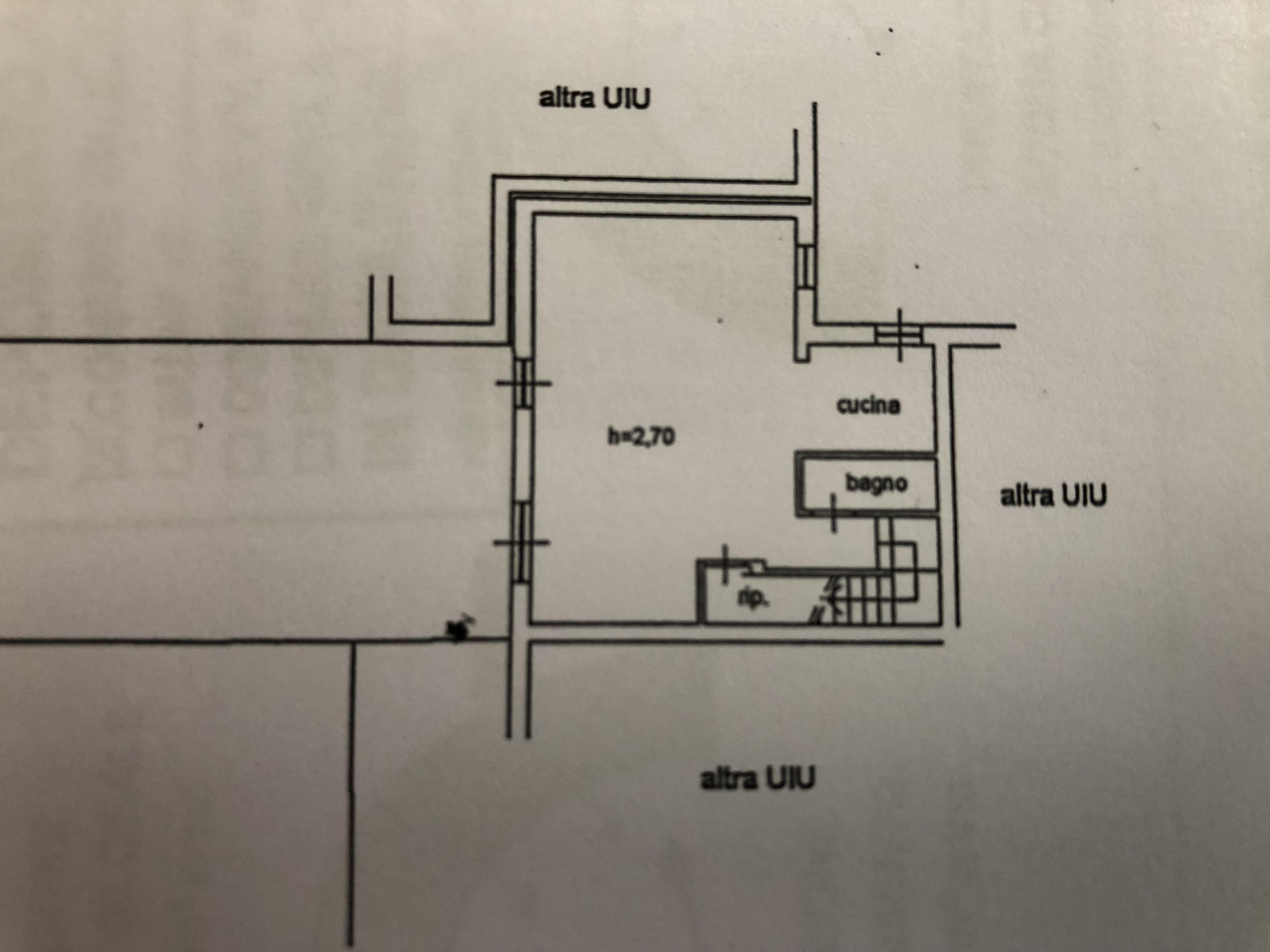 Planimetria 1/2 per rif. F/0161