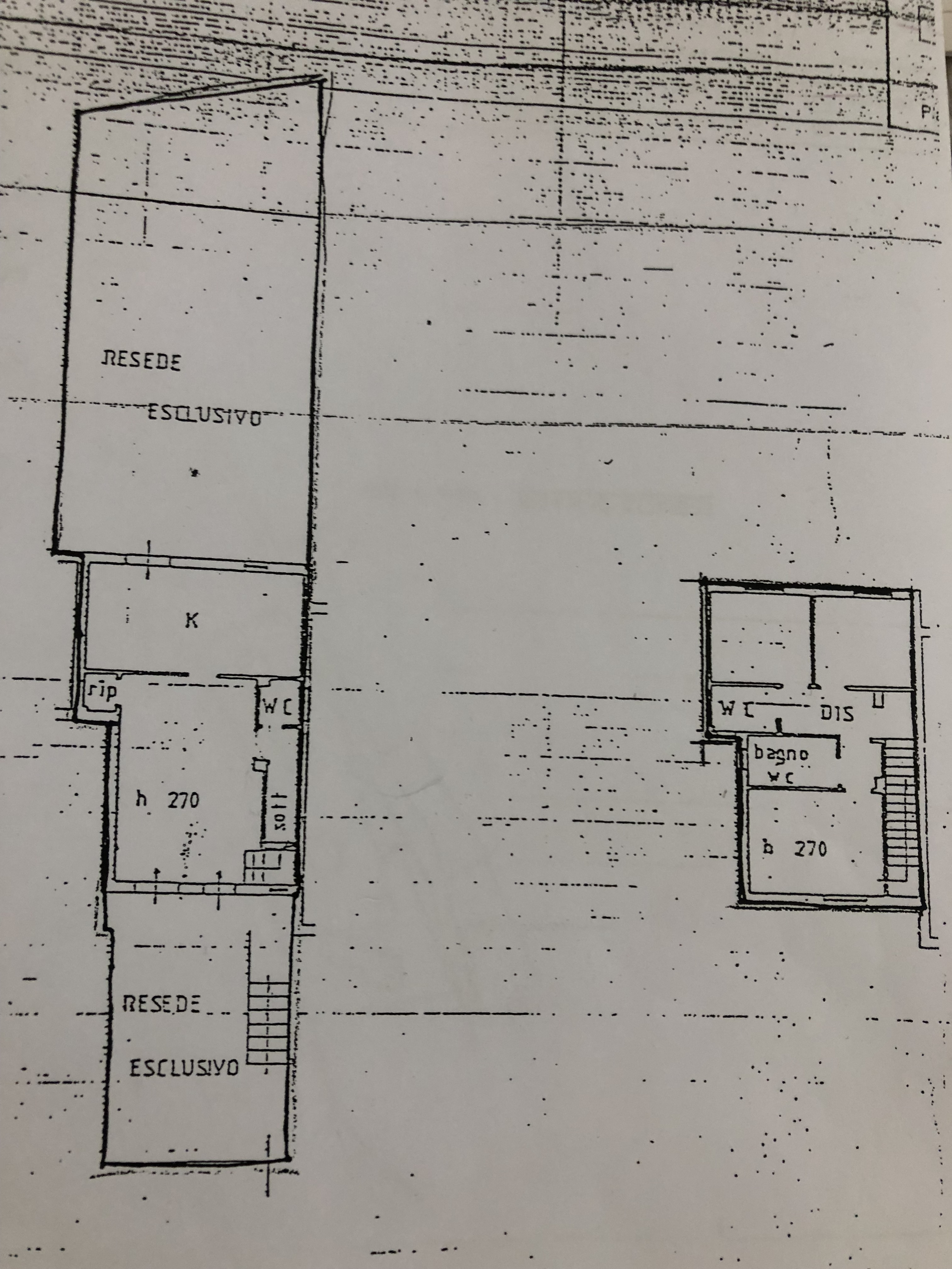 Planimetria 1/1 per rif. F/0175