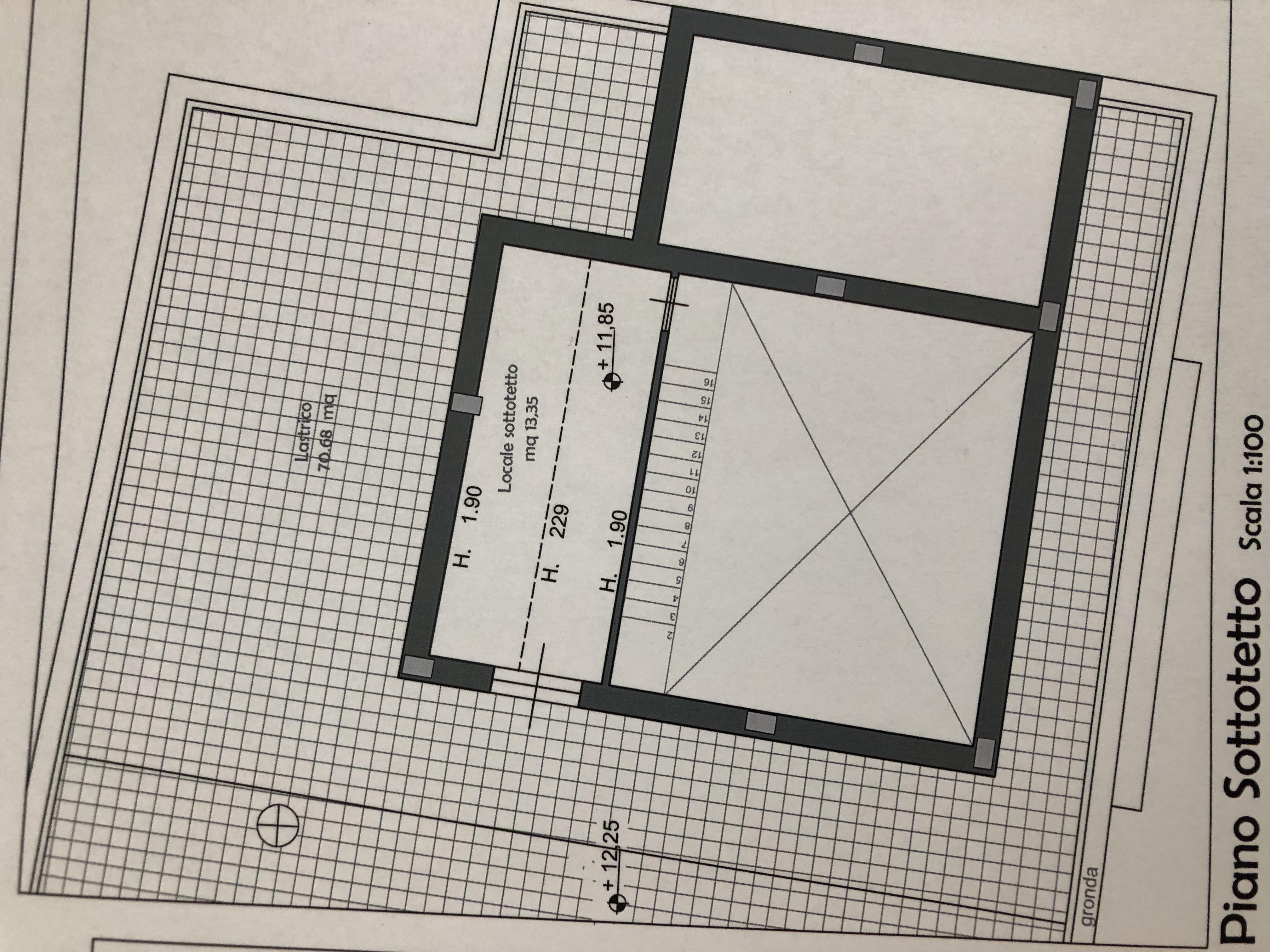 Planimetria 2/2 per rif. F/0182