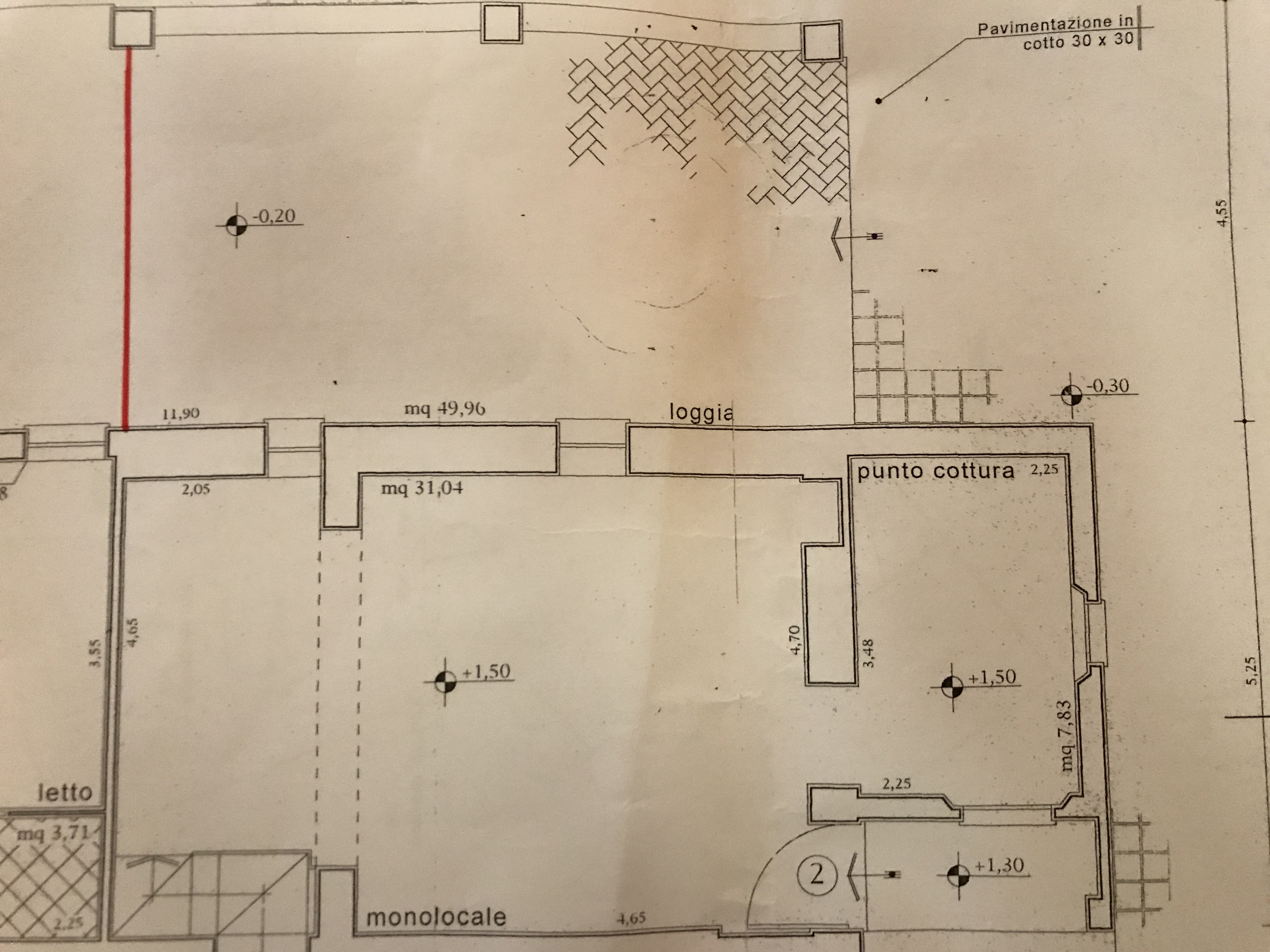 Planimetria 1/1 per rif. B/0126