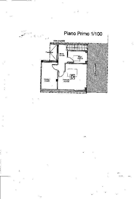 Planimetria 2/2 per rif. B/0128