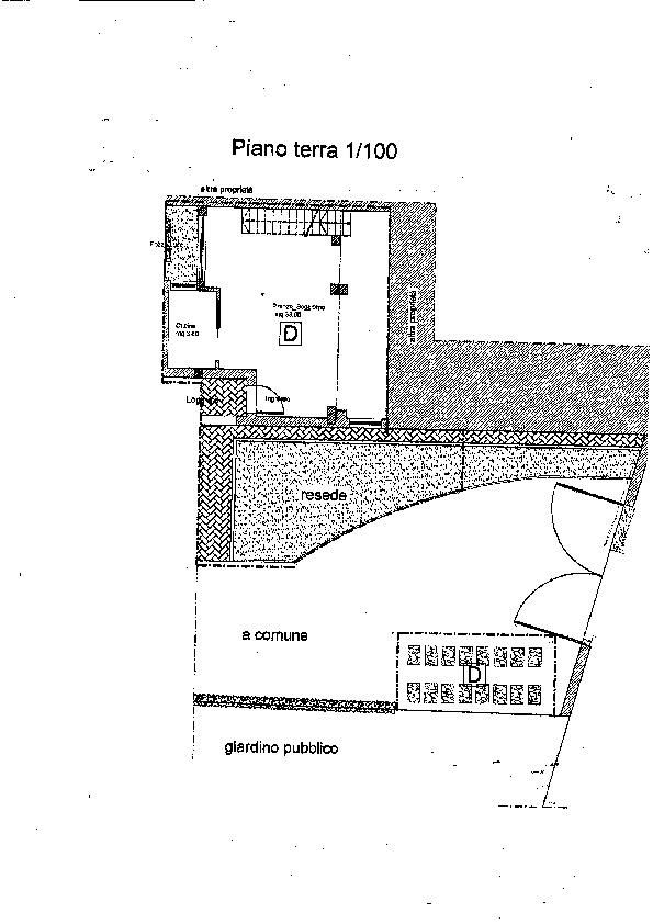 Planimetria 1/2 per rif. B/0128
