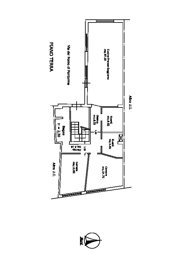 Planimetria 1/1 per rif. F/0203