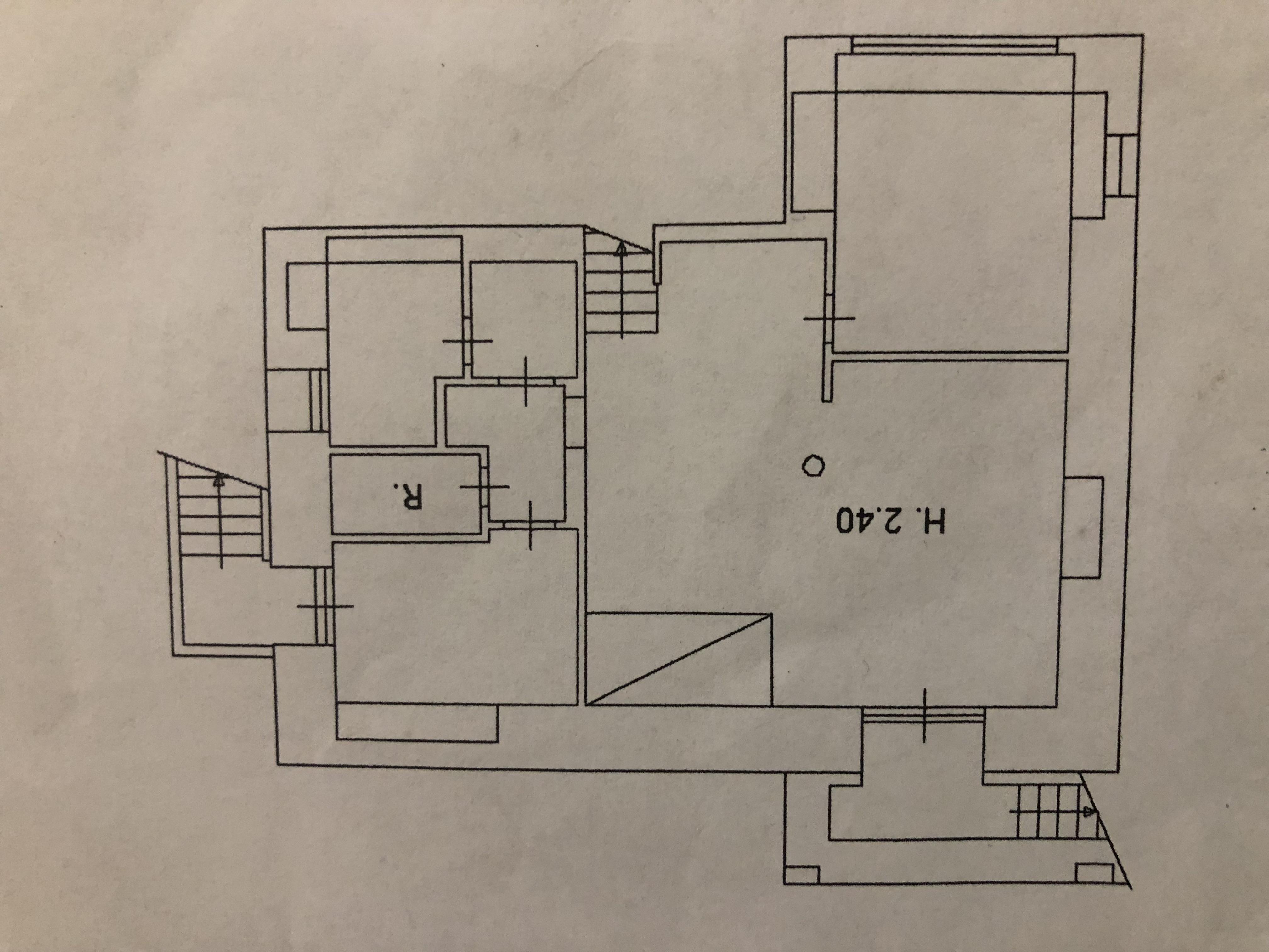 Planimetria 2/3 per rif. F/0204
