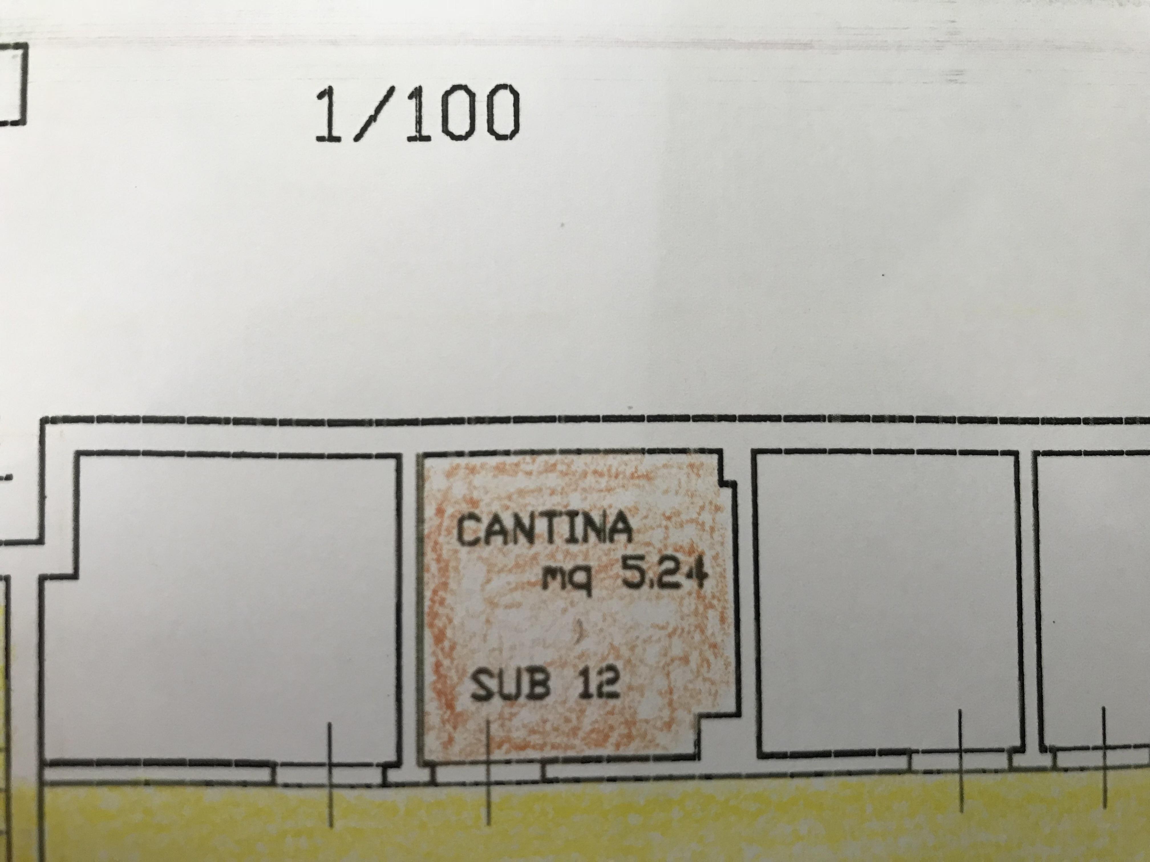 Planimetria 3/4 per rif. B/0138