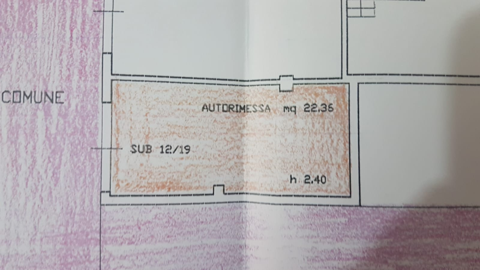 Planimetria 4/4 per rif. B/0138