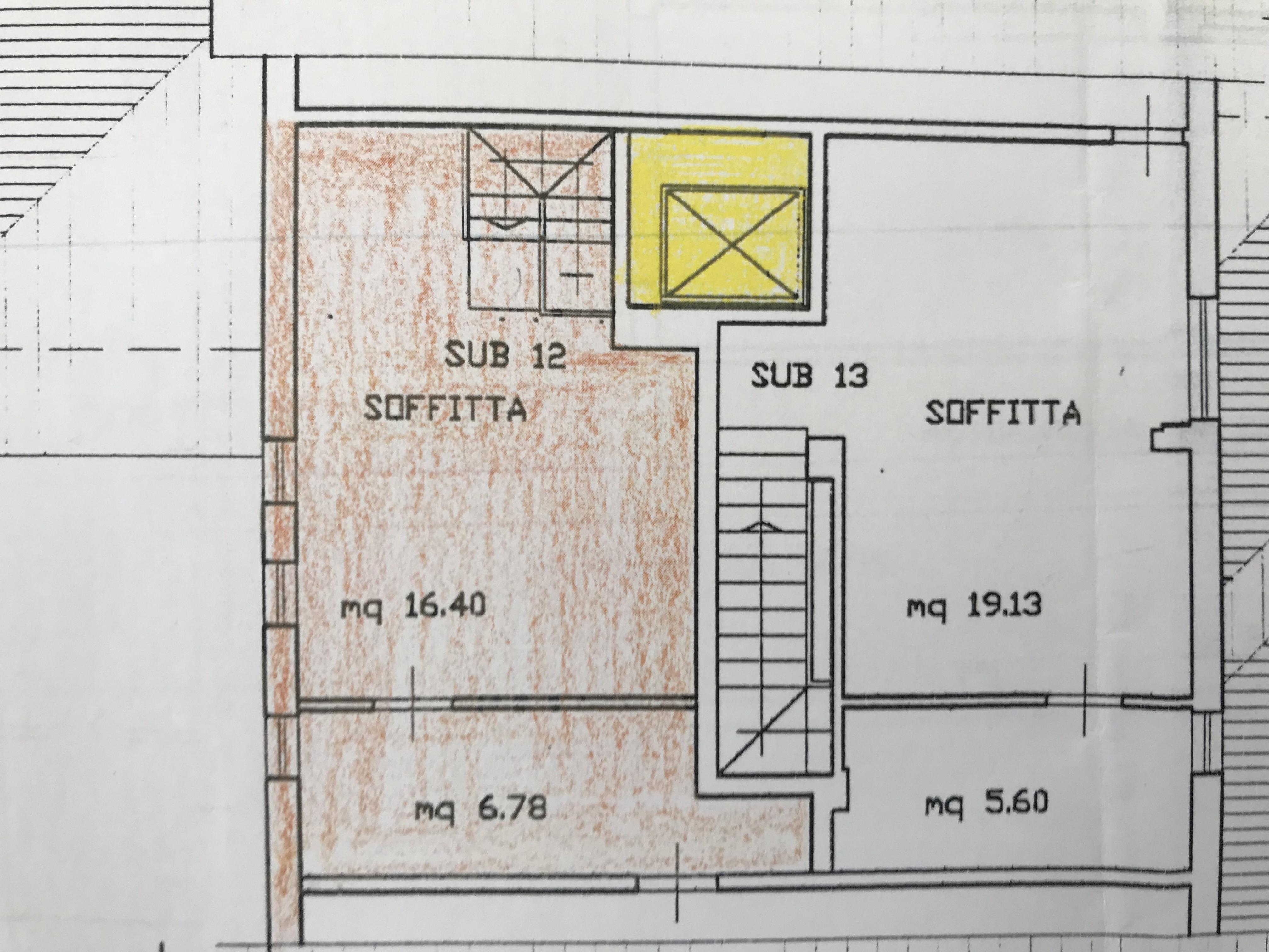 Planimetria 2/4 per rif. B/0138