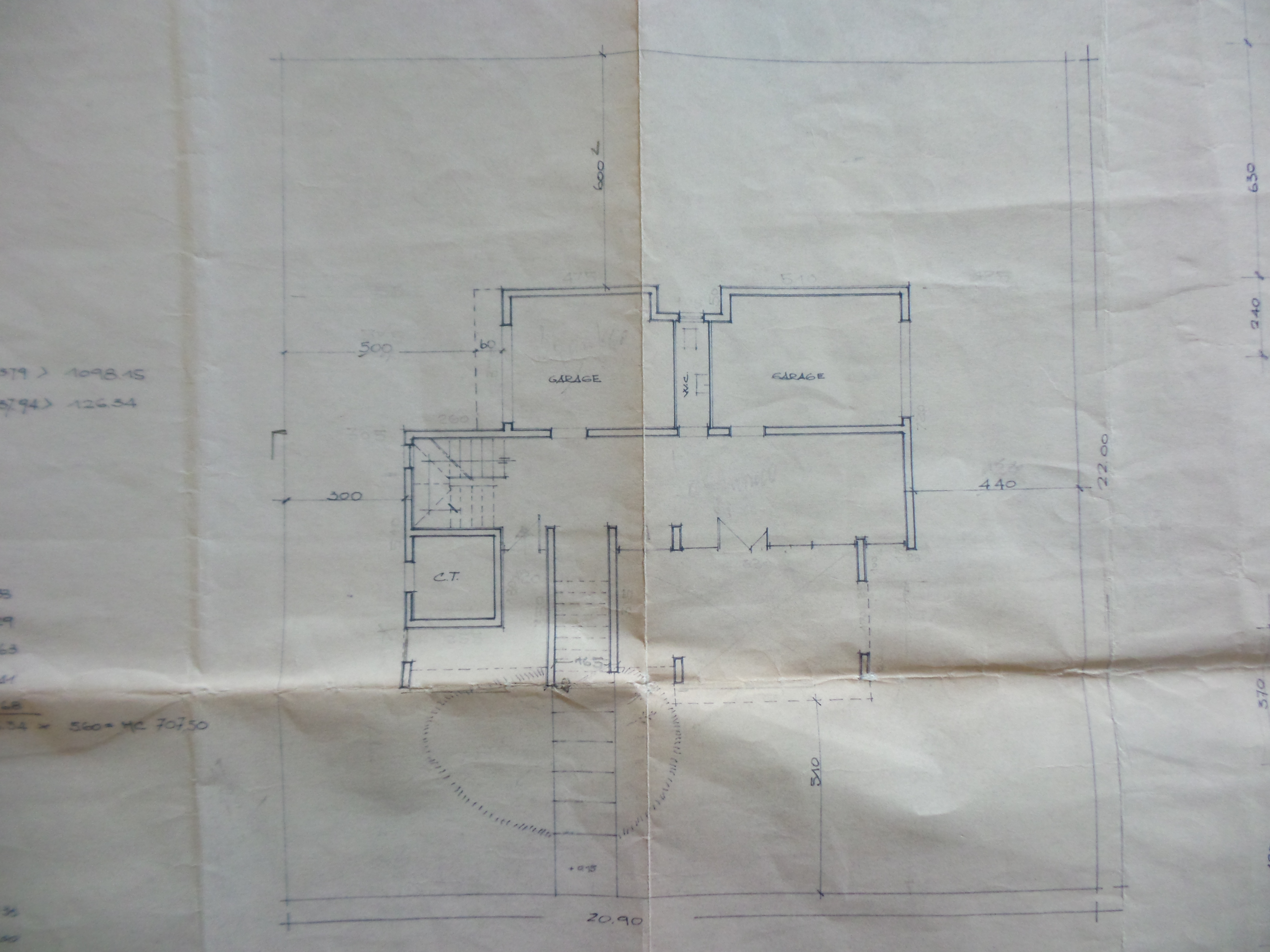 Plan 1/4 for ref. F/0252