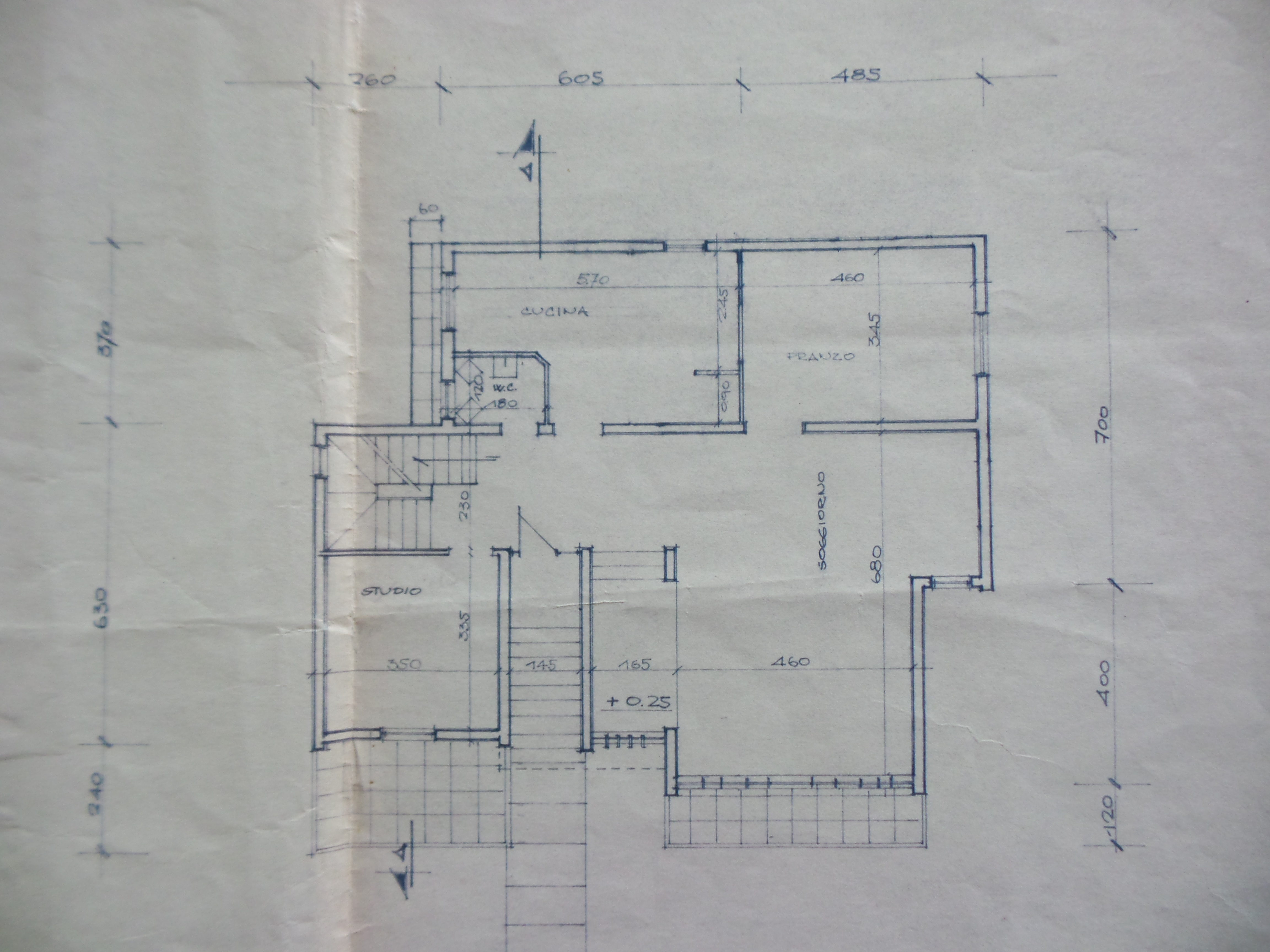 Plan 3/4 for ref. F/0252