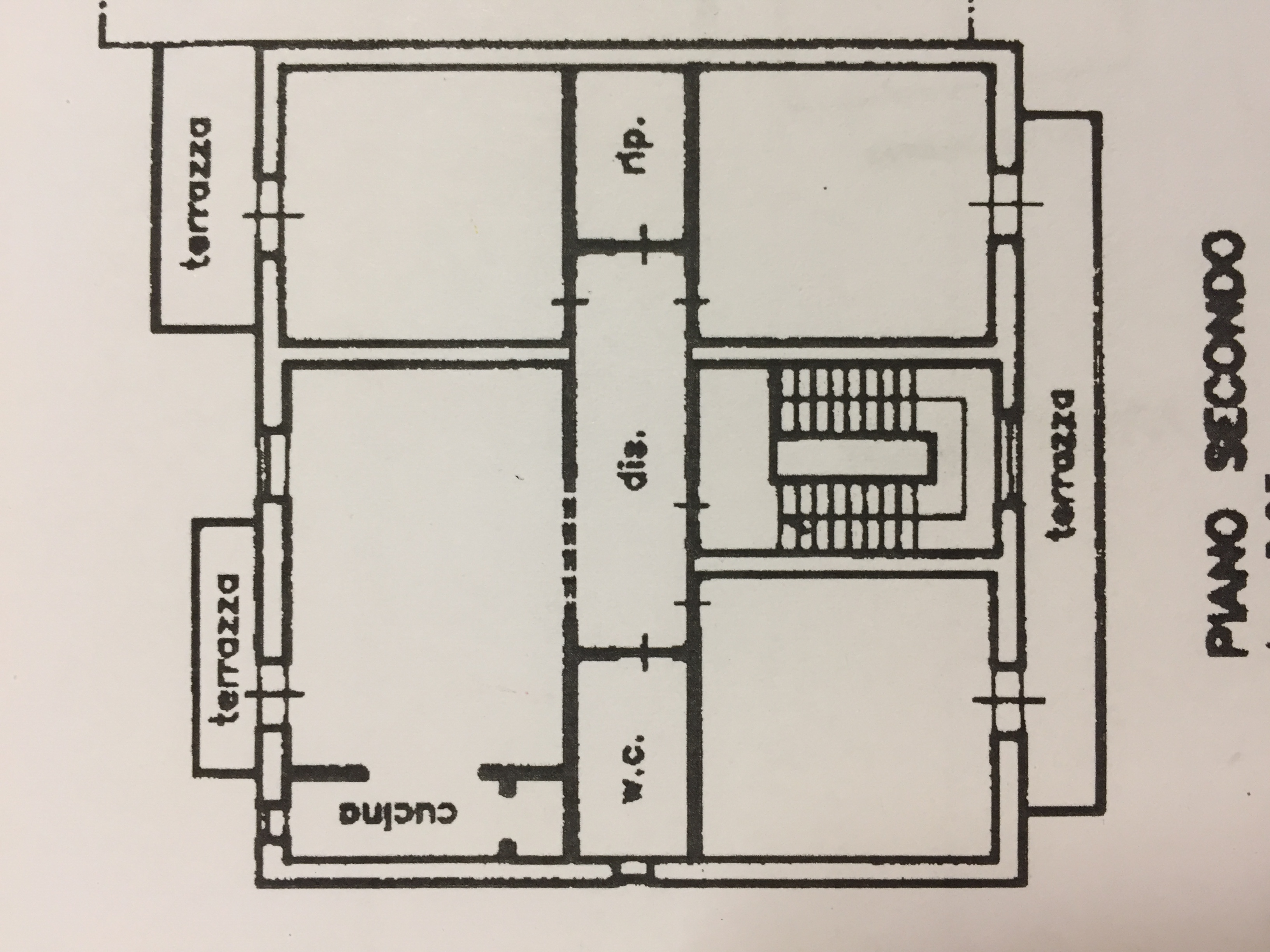Planimetria 1/1 per rif. M/0174