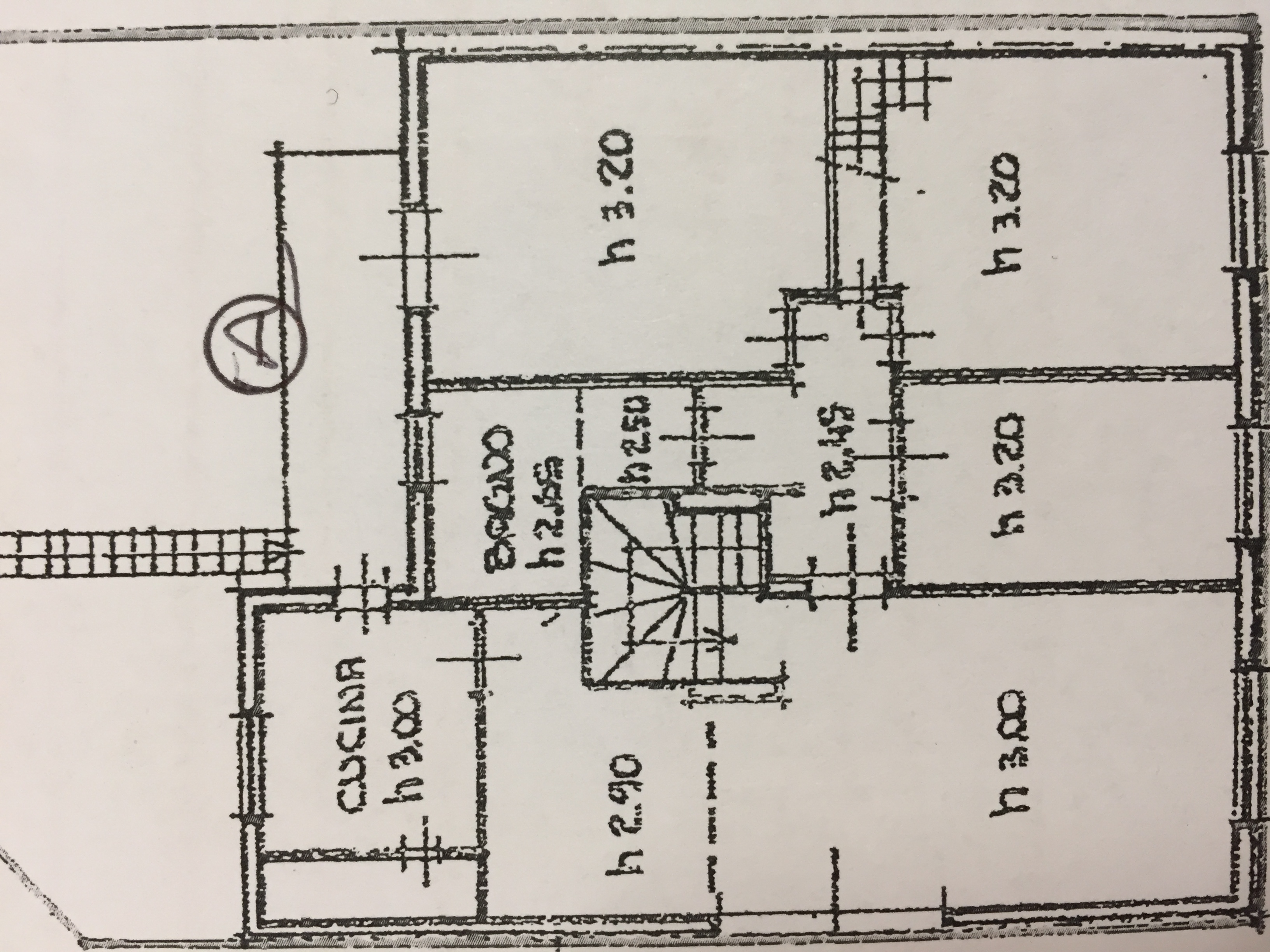 Planimetria 1/1 per rif. M/0178