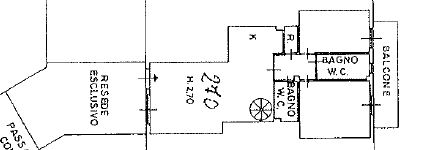 Planimetria 1/1 per rif. M/0180