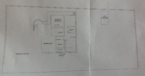 Planimetria 1/3 per rif. F/0220