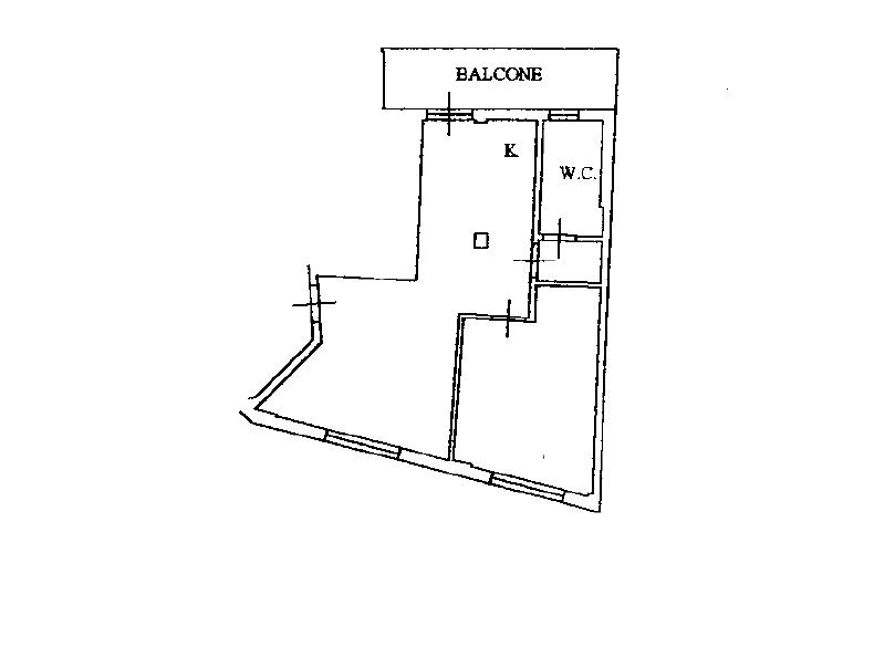 Appartamento in vendita, rif. M/0337 (Planimetria 1/1)