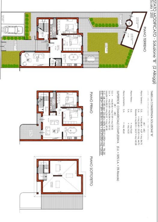 Plan 1/4 for ref. F/0229