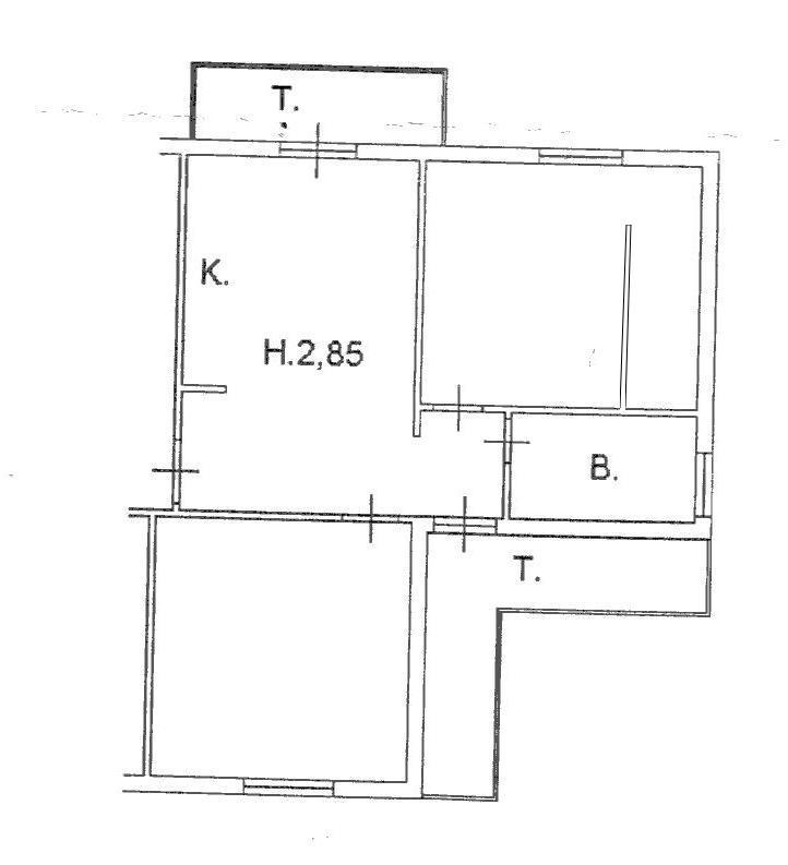 Planimetria 1/1 per rif. B/0149