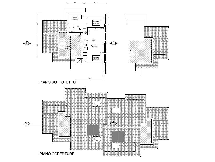 Planimetria 4/5 per rif. F/0238