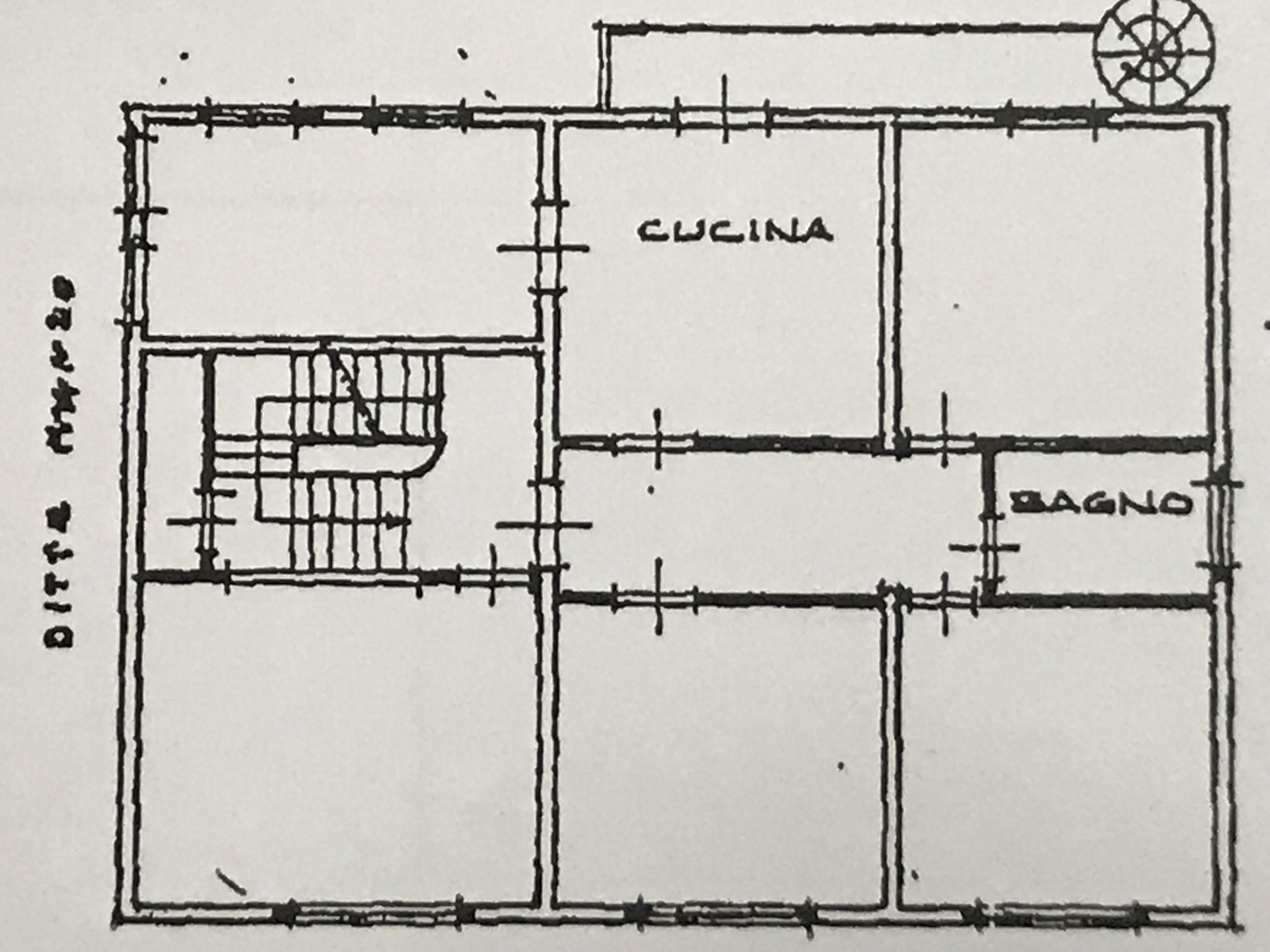 Planimetria 1/4 per rif. M/0204