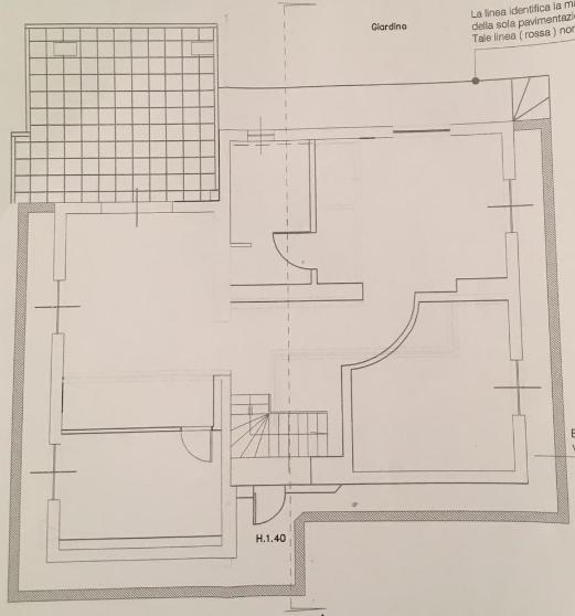 Planimetria 2/2 per rif. B/0151