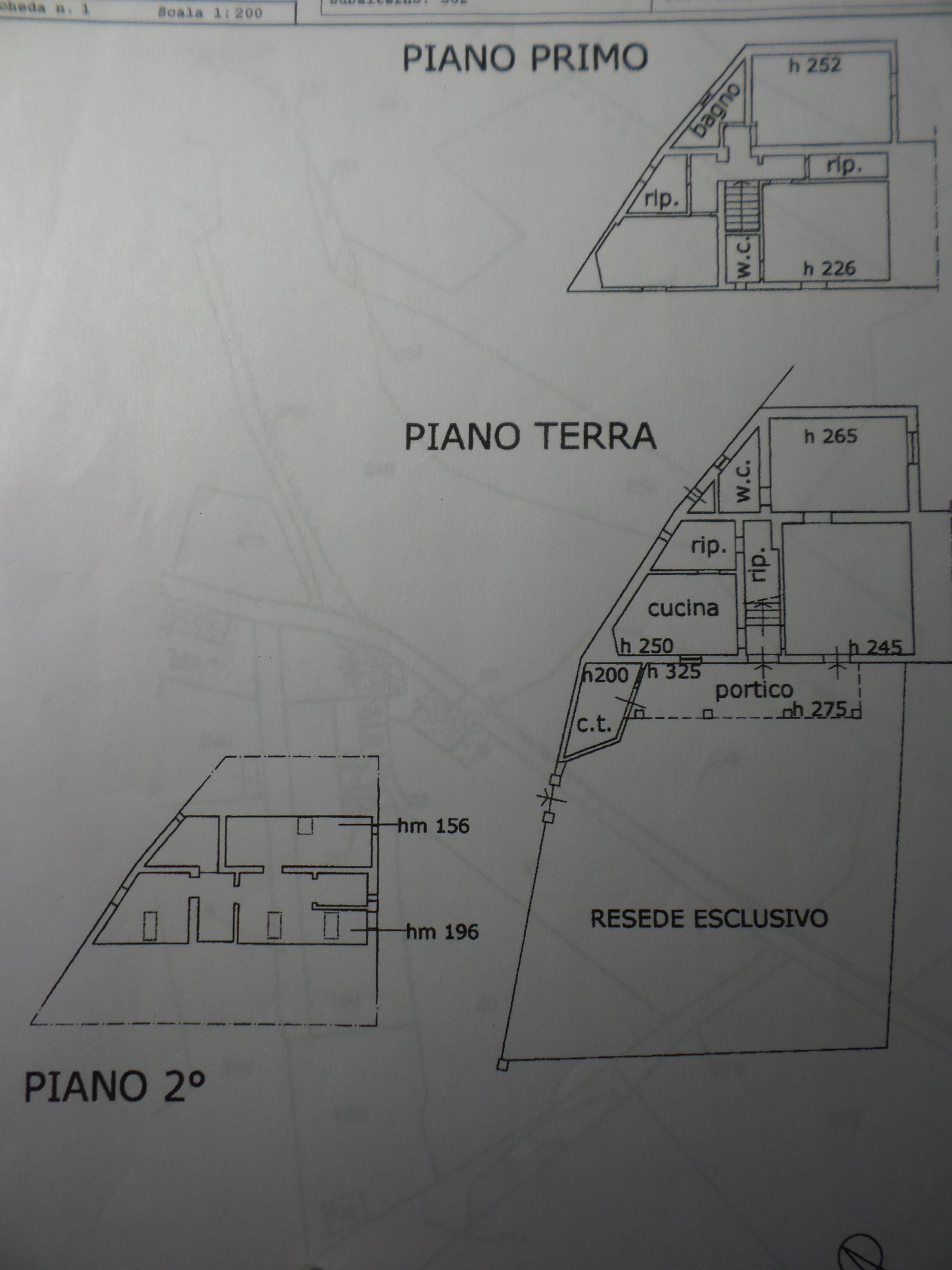 Planimetria 1/1 per rif. P/0109