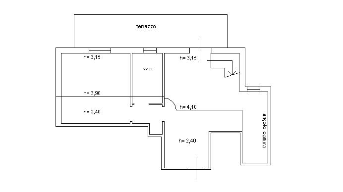 Planimetria 1/1 per rif. M/0190