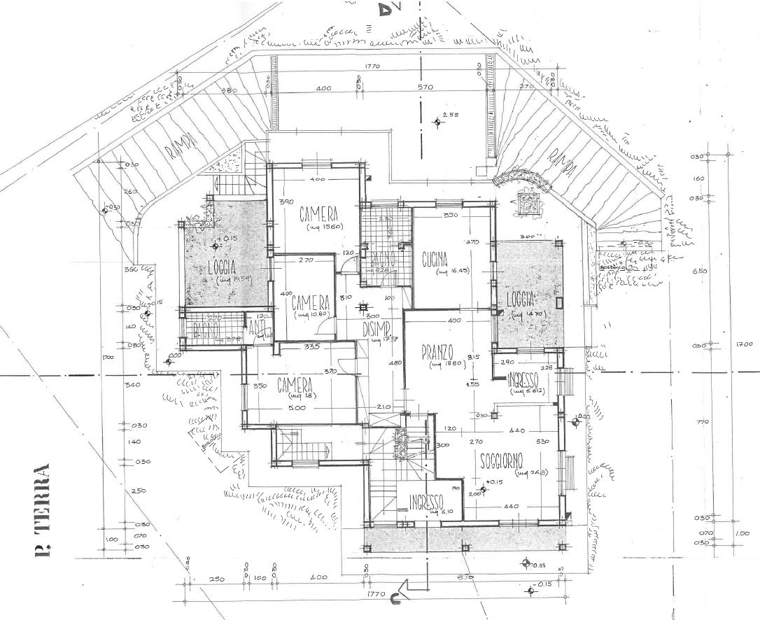 Planimetria 1/2 per rif. F/0247