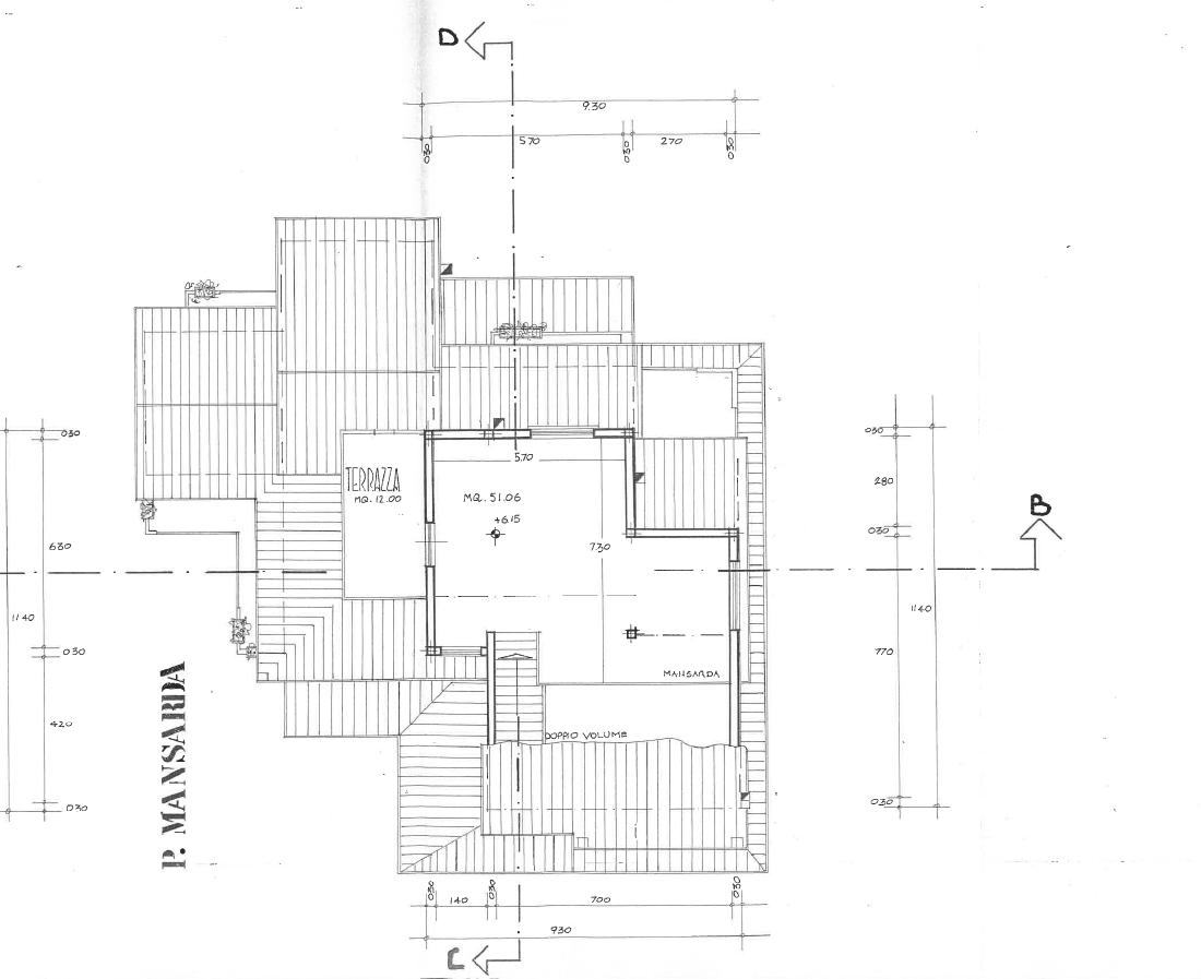 Planimetria 2/2 per rif. F/0247