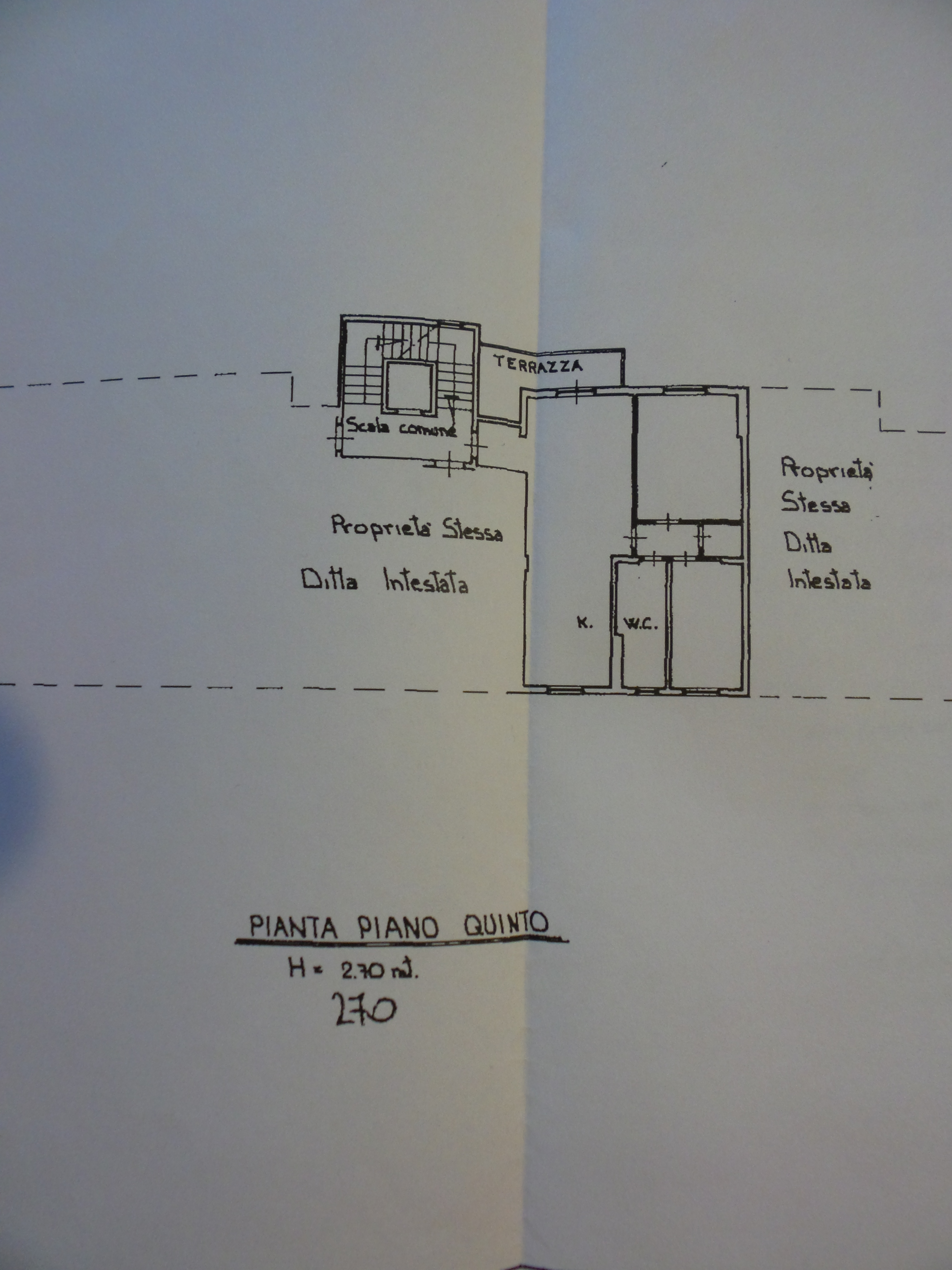 Planimetria 1/1 per rif. P/0114